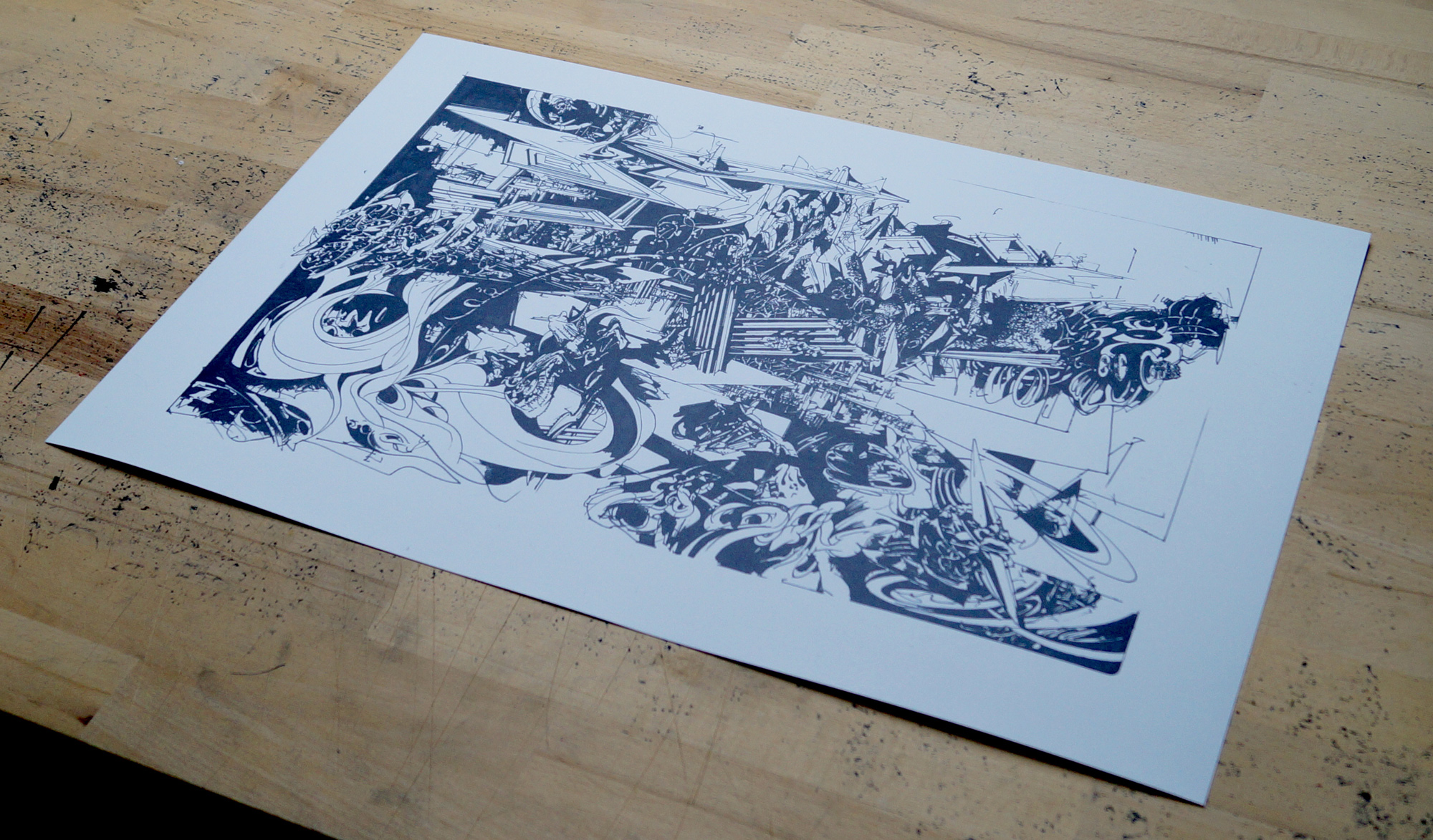 Limited editions prints Art Poster