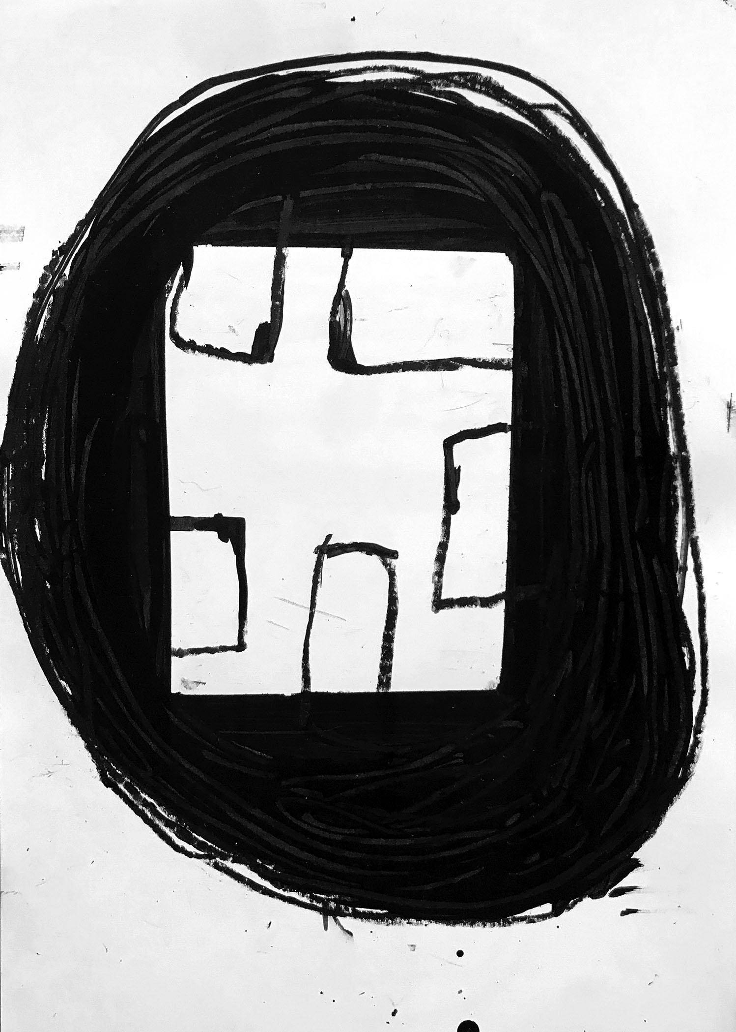 drawings, abstract, graphical, minimalistic, bodies, patterns, people, black, acrylic, crayons, abstract-forms, black-and-white, contemporary-art, danish, decorative, design, interior, interior-design, modern, modern-art, nordic, scandinavien, Buy original high quality art. Paintings, drawings, limited edition prints & posters by talented artists.