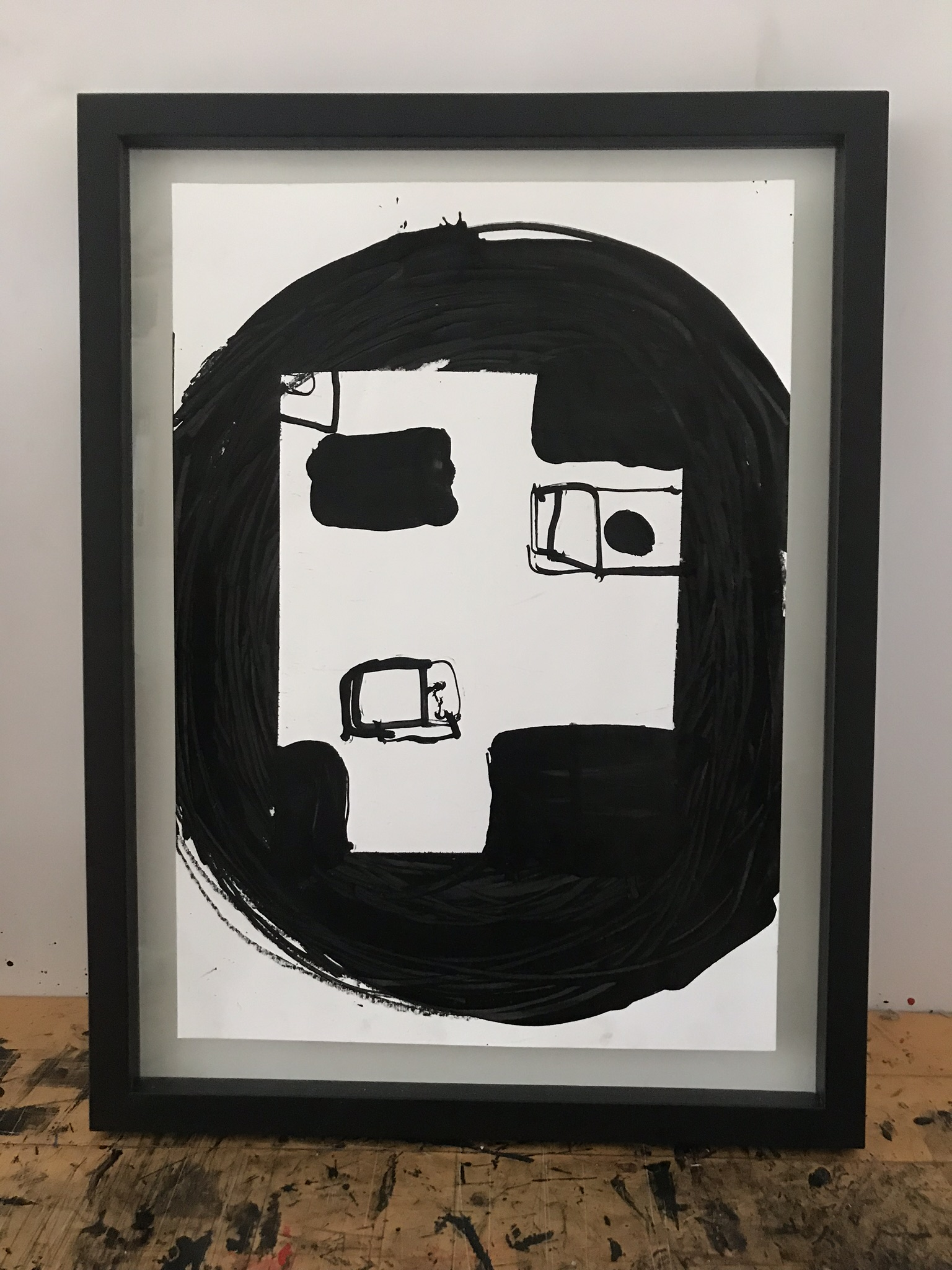 drawings, abstract, graphical, minimalistic, people, black, acrylic, crayons, abstract-forms, Buy original high quality art. Paintings, drawings, limited edition prints & posters by talented artists.