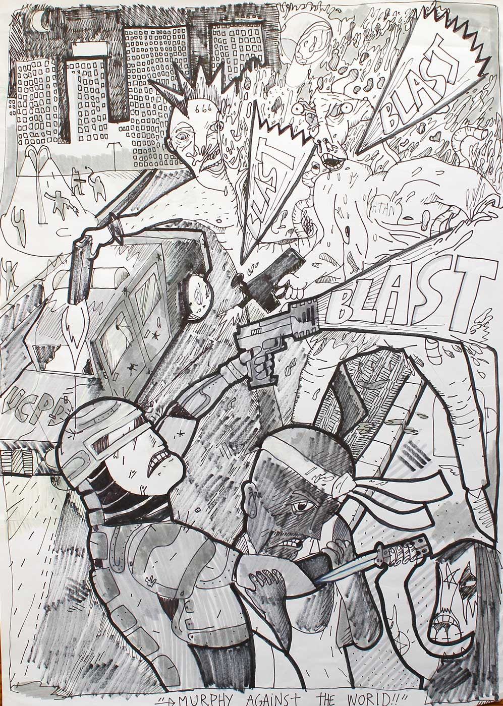 drawings, figurative, geometric, portraiture, surrealistic, architecture, black, white, artliner, paper, marker, fantasy, Buy original high quality art. Paintings, drawings, limited edition prints & posters by talented artists.