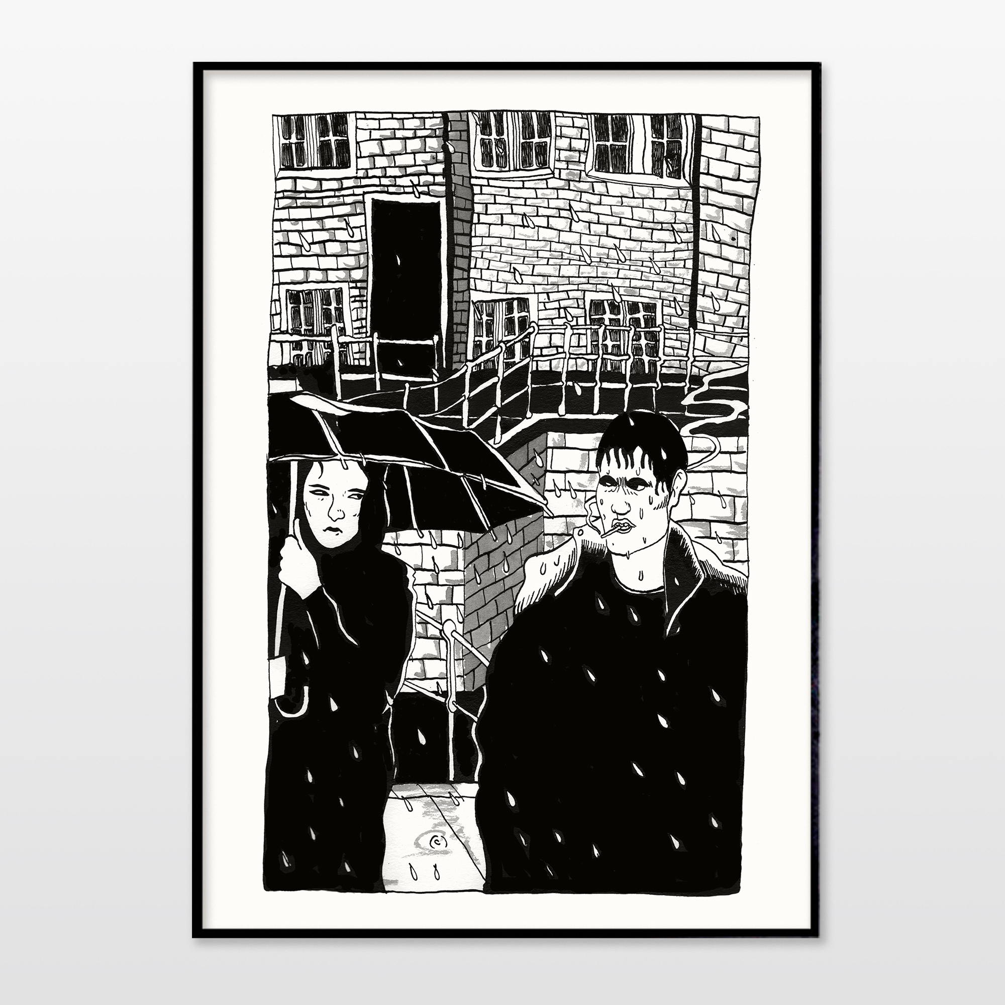 posters-prints, giclee-print, graphical, illustrative, monochrome, portraiture, architecture, bodies, cartoons, people, black, white, paper, black-and-white, contemporary-art, copenhagen, danish, decorative, design, interior, interior-design, love, men, modern, modern-art, nordic, scandinavien, sketch, Buy original high quality art. Paintings, drawings, limited edition prints & posters by talented artists.
