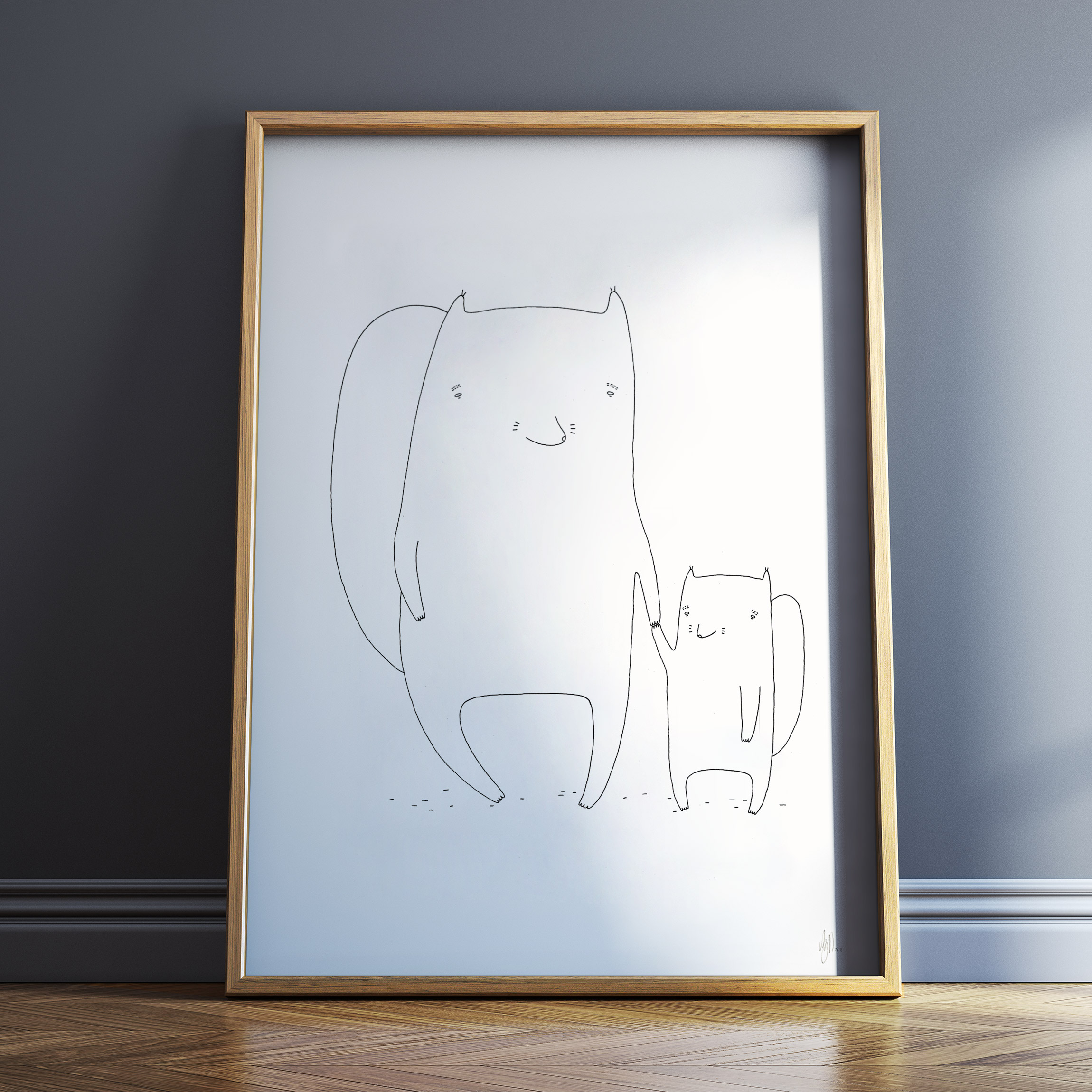 art-prints, giclee, animal, family-friendly, illustrative, minimalistic, animals, children, wildlife, black, white, ink, amusing, black-and-white, copenhagen, cute, danish, decorative, design, interior, interior-design, love, modern, modern-art, nordic, posters, prints, scandinavien, Buy original high quality art. Paintings, drawings, limited edition prints & posters by talented artists.