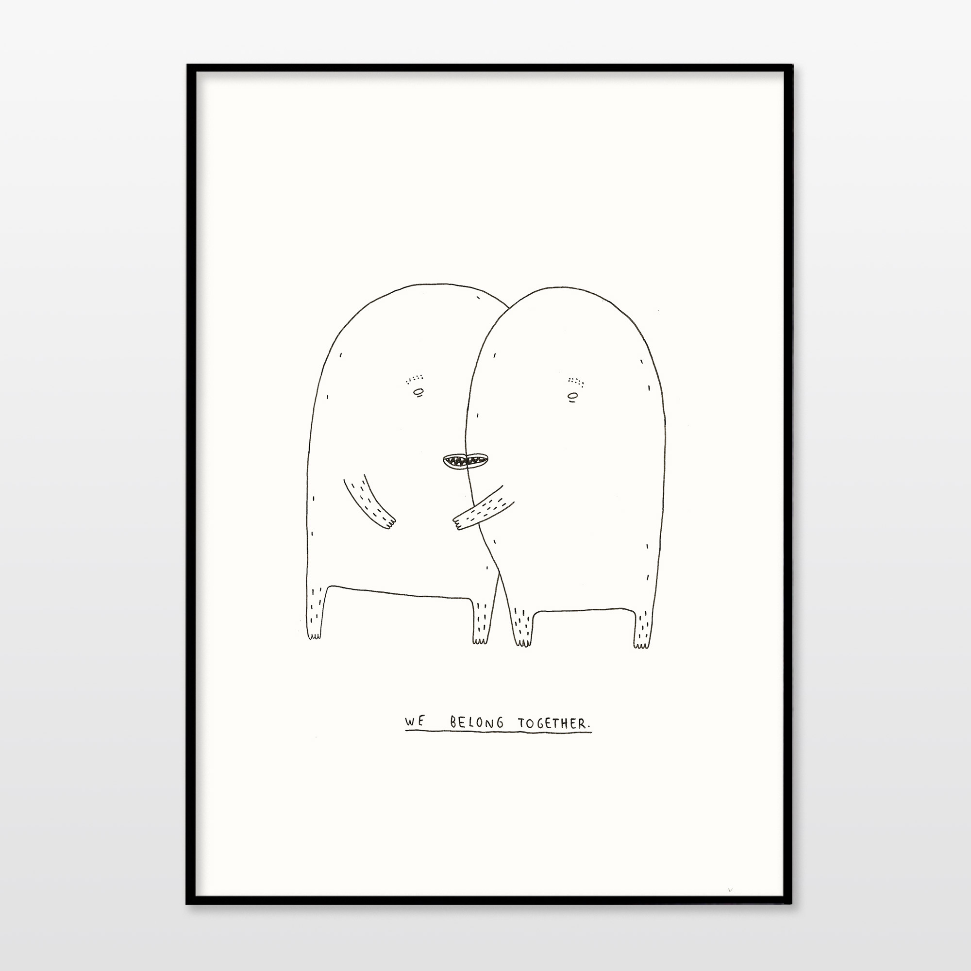 posters-prints, giclee-print, family-friendly, illustrative, minimalistic, children, moods, people, black, white, paper, black-and-white, cute, danish, design, interior, interior-design, love, modern, modern-art, nordic, posters, prints, scandinavien, Buy original high quality art. Paintings, drawings, limited edition prints & posters by talented artists.