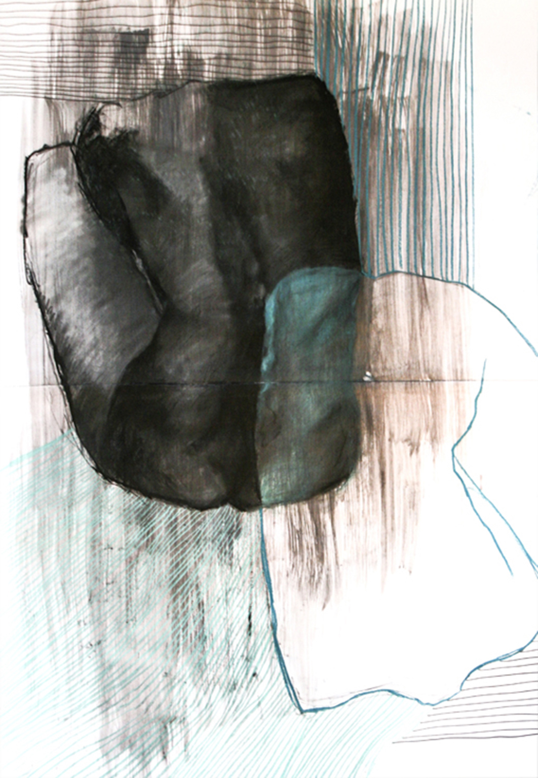 drawings, abstract, aesthetic, figurative, illustrative, minimalistic, portraiture, bodies, patterns, black, green, white, acrylic, charcoal, paper, abstract-forms, beautiful, decorative, interior, interior-design, nude, pretty, Buy original high quality art. Paintings, drawings, limited edition prints & posters by talented artists.
