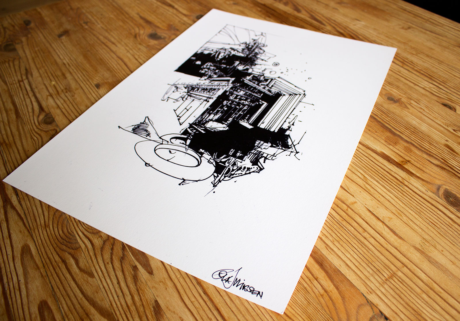 art-prints, gliceé, aesthetic, illustrative, monochrome, architecture, black, white, ink, paper, abstract-forms, architectural, black-and-white, buildings, decorative, expressionism, graffiti, male, sketch, urban, Buy original high quality art. Paintings, drawings, limited edition prints & posters by talented artists.