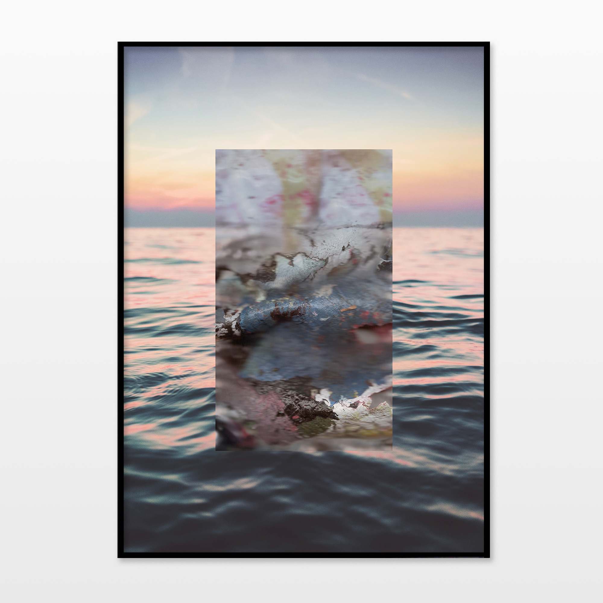posters-prints, giclee-print, aesthetic, colorful, figurative, graphical, landscape, pop, nature, oceans, sailing, sky, blue, pink, yellow, ink, paper, contemporary-art, interior, interior-design, modern, modern-art, photorealistic, sea, water, Buy original high quality art. Paintings, drawings, limited edition prints & posters by talented artists.