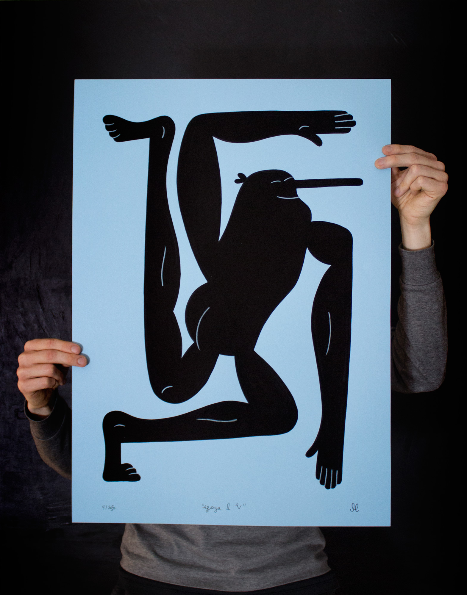 posters-prints, giclee-print, family-friendly, figurative, illustrative, monochrome, pop, portraiture, bodies, humor, movement, people, black, blue, ink, paper, abstract-forms, amusing, black-and-white, contemporary-art, copenhagen, danish, decorative, design, interior, interior-design, men, modern, modern-art, nordic, posters, prints, scandinavien, street-art, Buy original high quality art. Paintings, drawings, limited edition prints & posters by talented artists.