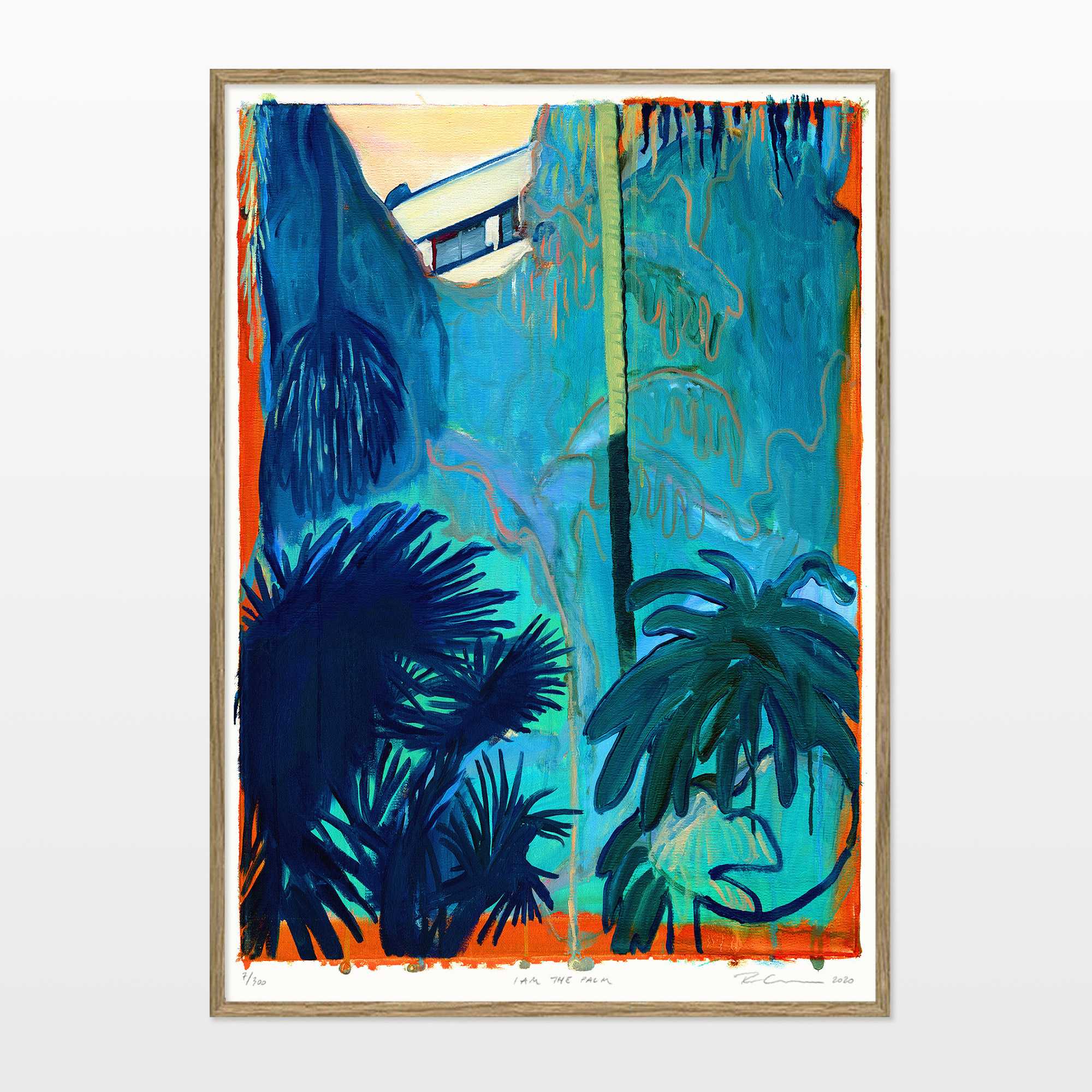 posters-prints, giclee-print, aesthetic, colorful, figurative, illustrative, landscape, botany, nature, blue, orange, turquoise, ink, paper, beautiful, contemporary-art, copenhagen, danish, decorative, design, forest, interior, interior-design, modern, modern-art, nordic, plants, posters, scandinavien, Buy original high quality art. Paintings, drawings, limited edition prints & posters by talented artists.