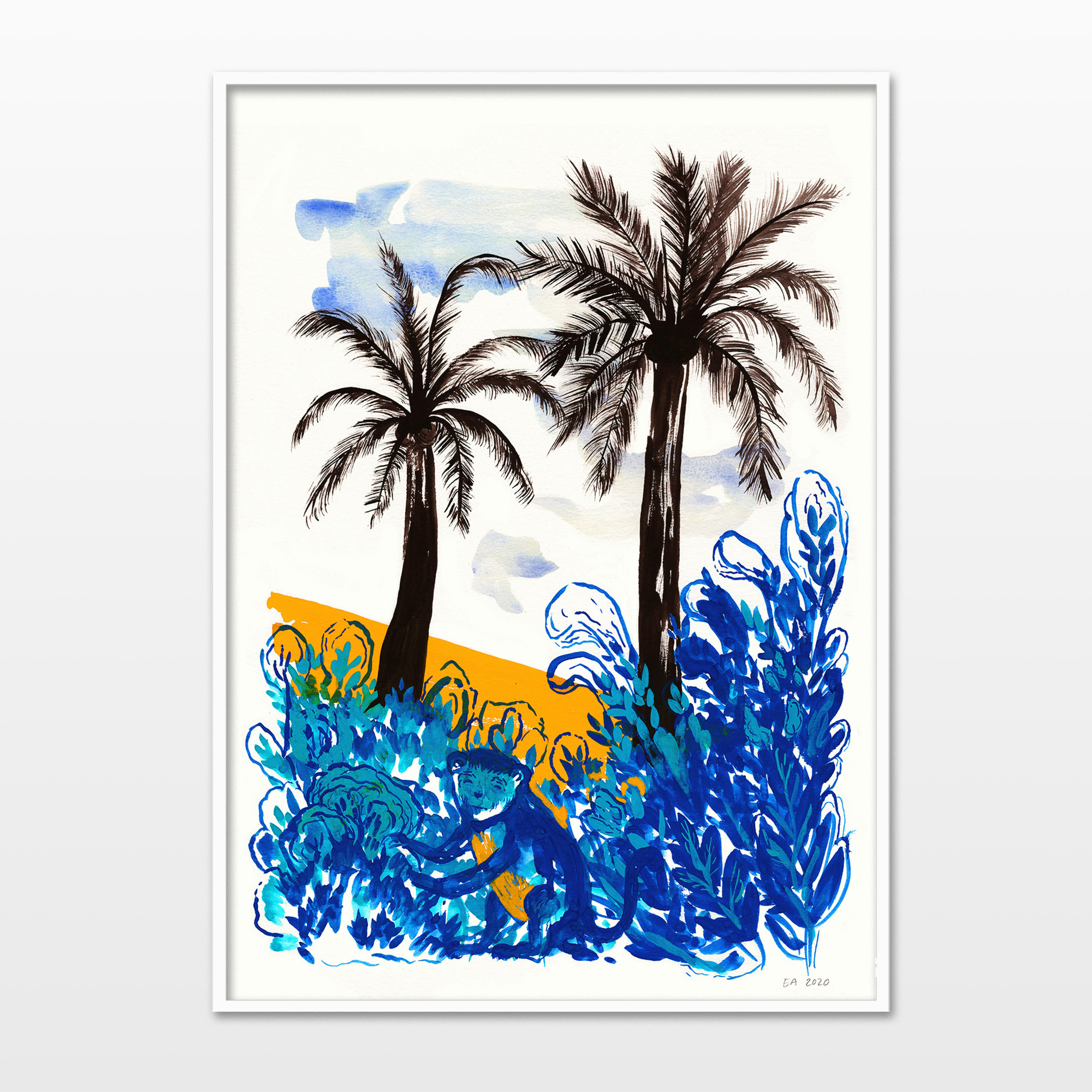 drawings, watercolor-paintings, aesthetic, colorful, family-friendly, figurative, illustrative, landscape, animals, botany, children, nature, wildlife, black, blue, orange, ink, paper, watercolor, beautiful, contemporary-art, danish, decorative, design, interior, interior-design, modern, modern-art, nordic, plants, posters, pretty, scandinavien, Buy original high quality art. Paintings, drawings, limited edition prints & posters by talented artists.