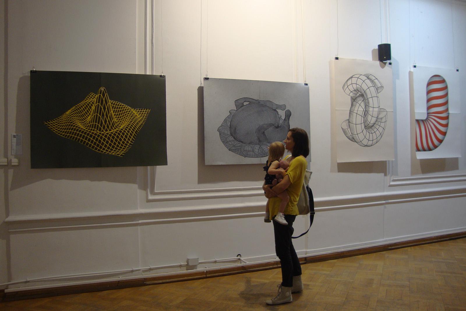 CHICKEN linocut_exhibition