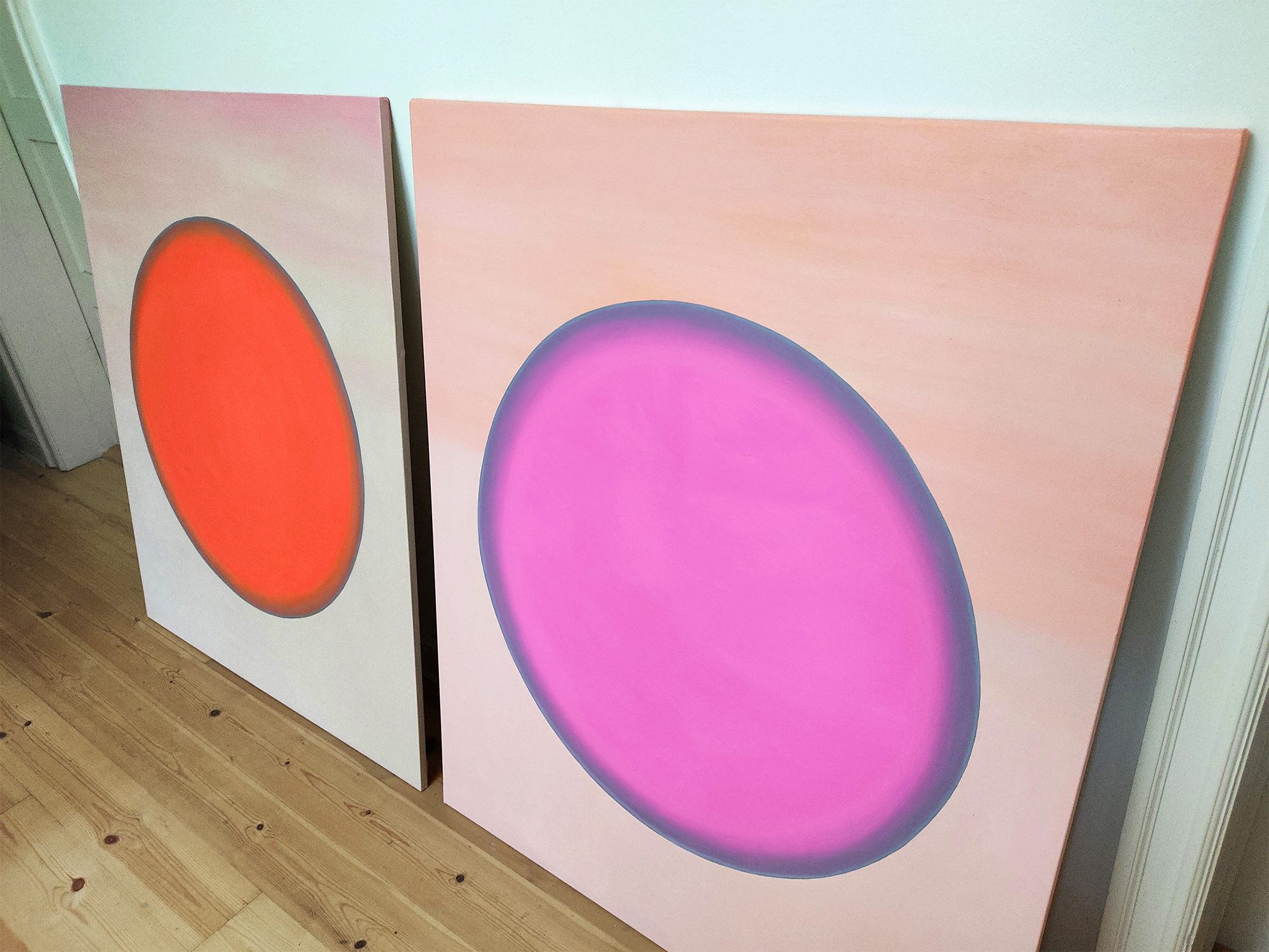 paintings, aesthetic, colorful, graphical, minimalistic, moods, nature, science, technology, grey, orange, pastel, pink, acrylic, cotton-canvas, abstract-forms, beautiful, contemporary-art, copenhagen, danish, decorative, design, fantasy, interior-design, modern, modern-art, outer-space, pretty, scandinavien, shapes, symbolic, symmetry, Buy original high quality art. Paintings, drawings, limited edition prints & posters by talented artists.