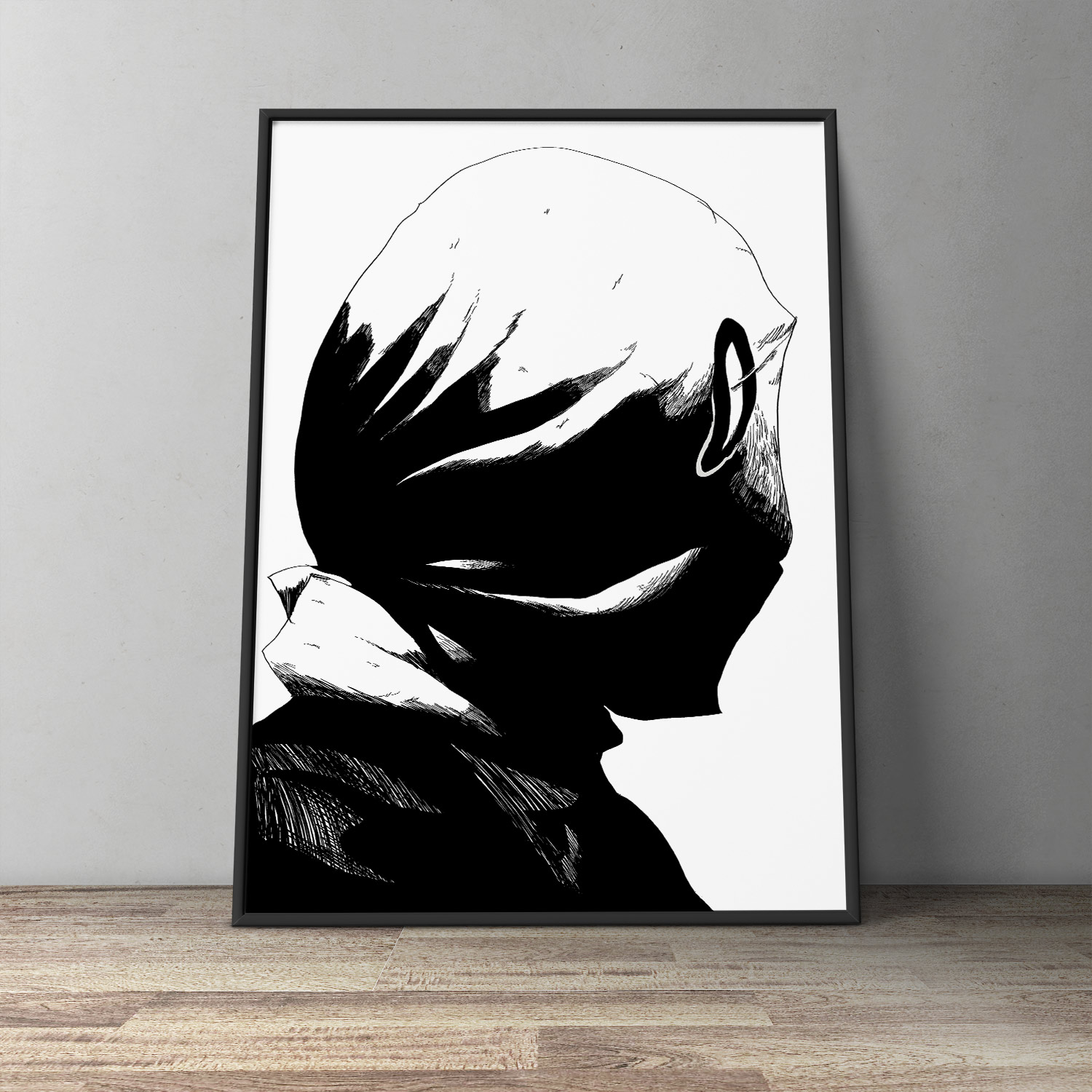 art-prints, gliceé, figurative, monochrome, portraiture, people, black, white, paper, black-and-white, contemporary-art, danish, design, faces, interior, interior-design, modern, modern-art, nordic, posters, prints, Buy original high quality art. Paintings, drawings, limited edition prints & posters by talented artists.