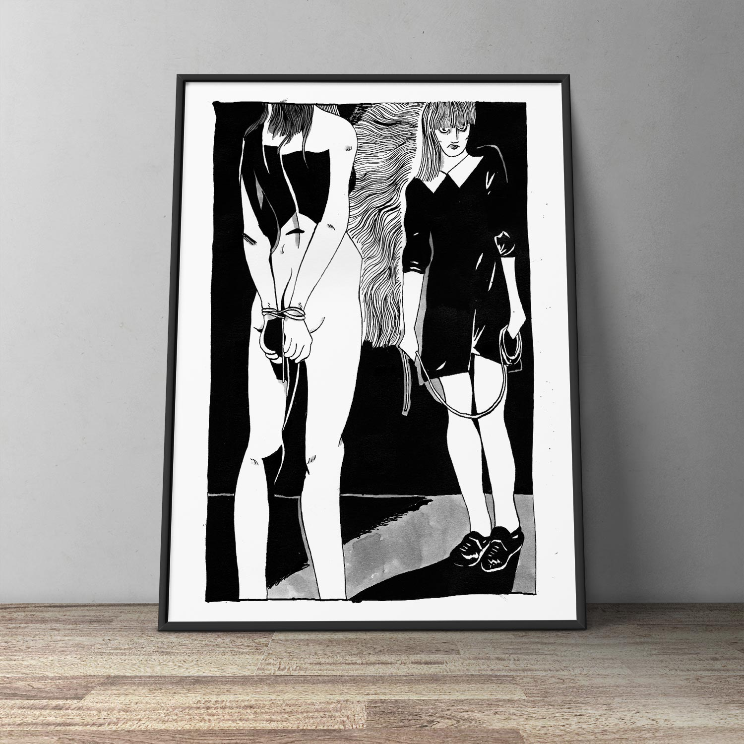 art-prints, gliceé, graphical, illustrative, monochrome, portraiture, bodies, cartoons, sexuality, black, white, ink, paper, black-and-white, contemporary-art, danish, decorative, design, erotic, interior, interior-design, modern, modern-art, nordic, scandinavien, sexual, sketch, Buy original high quality art. Paintings, drawings, limited edition prints & posters by talented artists.