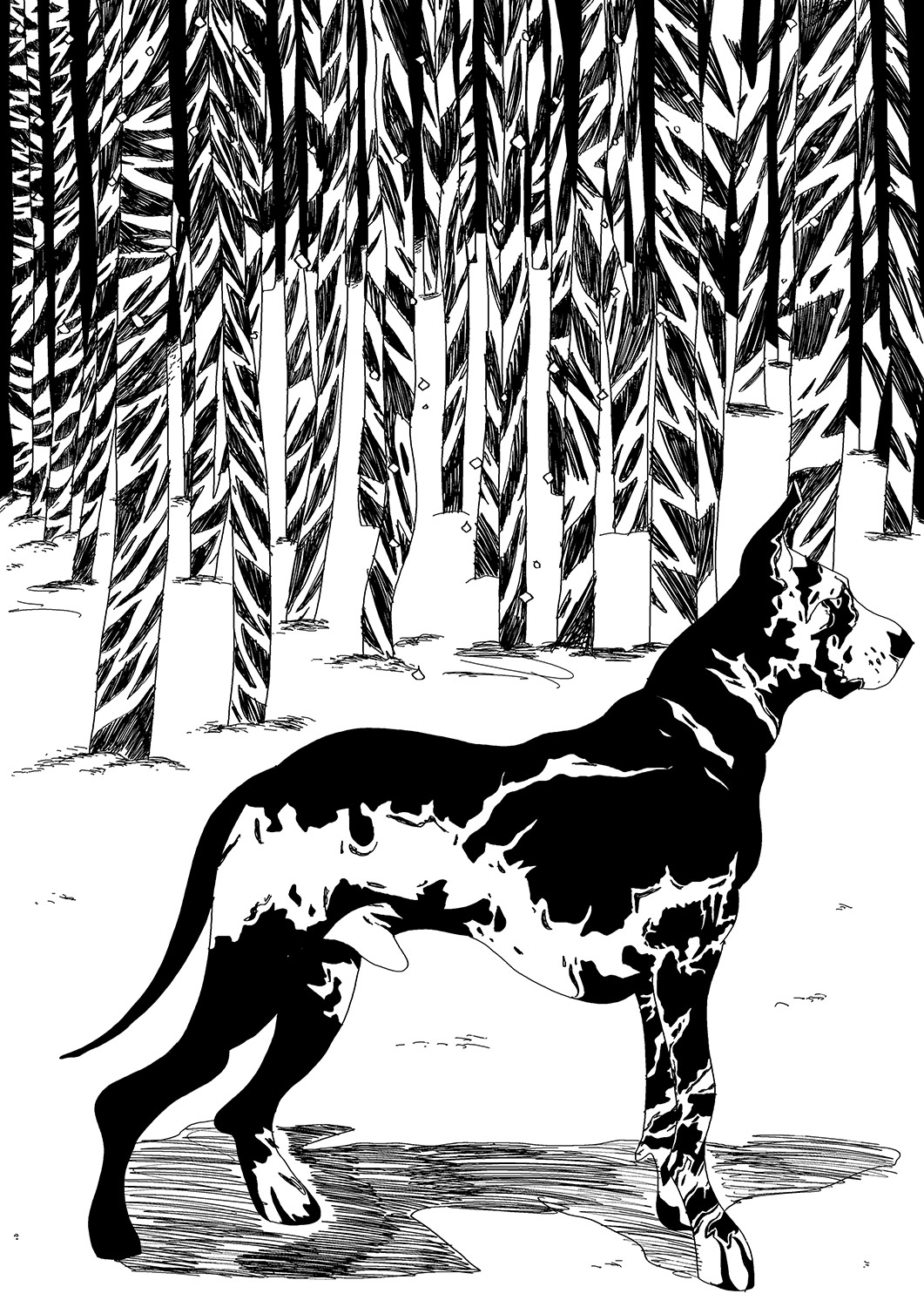 art-prints, gliceé, animal, graphical, illustrative, landscape, monochrome, botany, cartoons, nature, pets, seasons, black, white, ink, paper, black-and-white, contemporary-art, danish, decorative, design, dogs, interior, interior-design, modern, modern-art, nordic, posters, prints, scandinavien, scenery, sketch, wild-animals, Buy original high quality art. Paintings, drawings, limited edition prints & posters by talented artists.