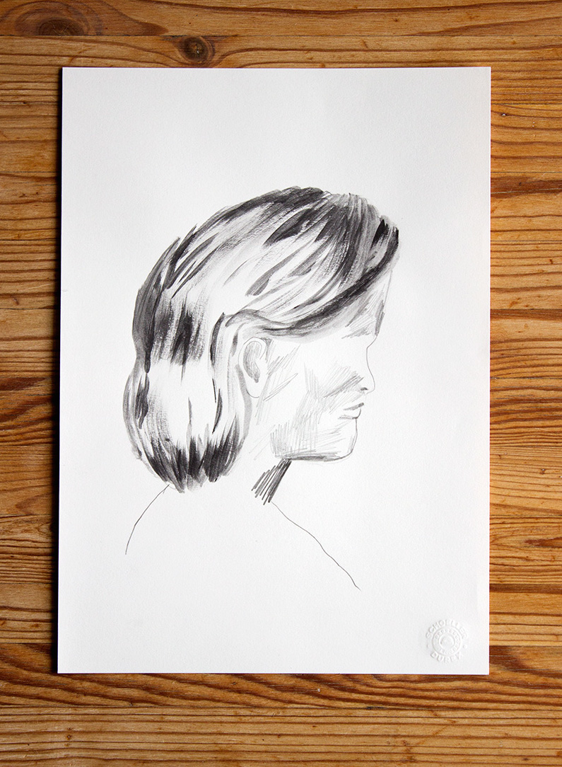 drawings, watercolors, figurative, portraiture, bodies, people, grey, white, paper, pencils, watercolor, copenhagen, danish, decorative, faces, interior, interior-design, scandinavien, Buy original high quality art. Paintings, drawings, limited edition prints & posters by talented artists.