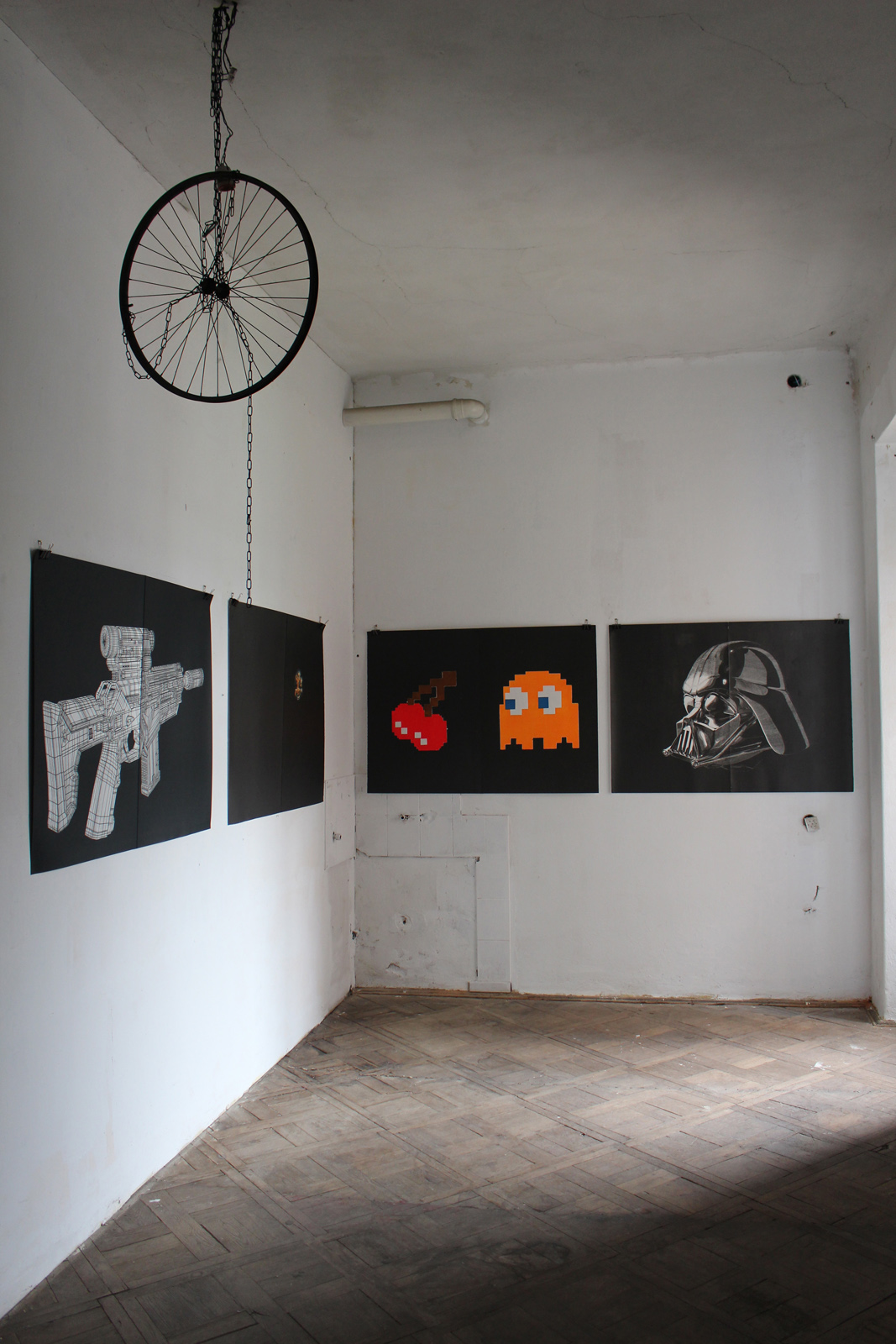 GHOST linocut_exhibition