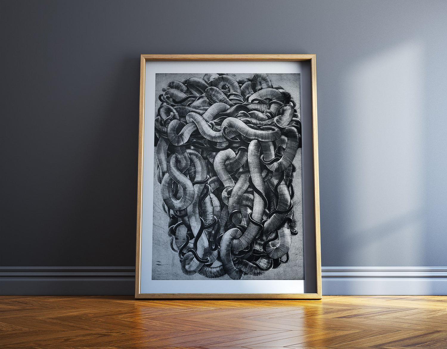 art-prints, engravings, abstract, aesthetic, monochrome, movement, black, grey, white, ink, paper, abstract-forms, autumn, danish, decorative, design, interior, interior-design, nordic, scandinavien, Buy original high quality art. Paintings, drawings, limited edition prints & posters by talented artists.