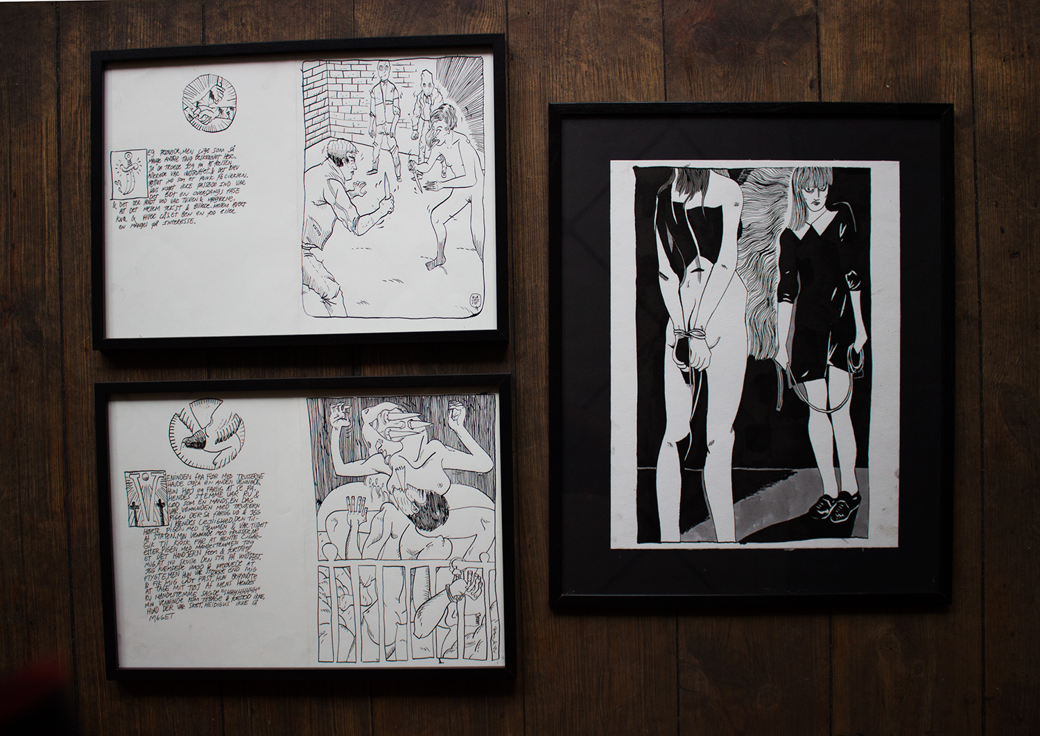 drawings, graphical, illustrative, monochrome, portraiture, bodies, cartoons, everyday life, sexuality, black, white, artliner, paper, marker, erotic, nude, sketch, Buy original high quality art. Paintings, drawings, limited edition prints & posters by talented artists.