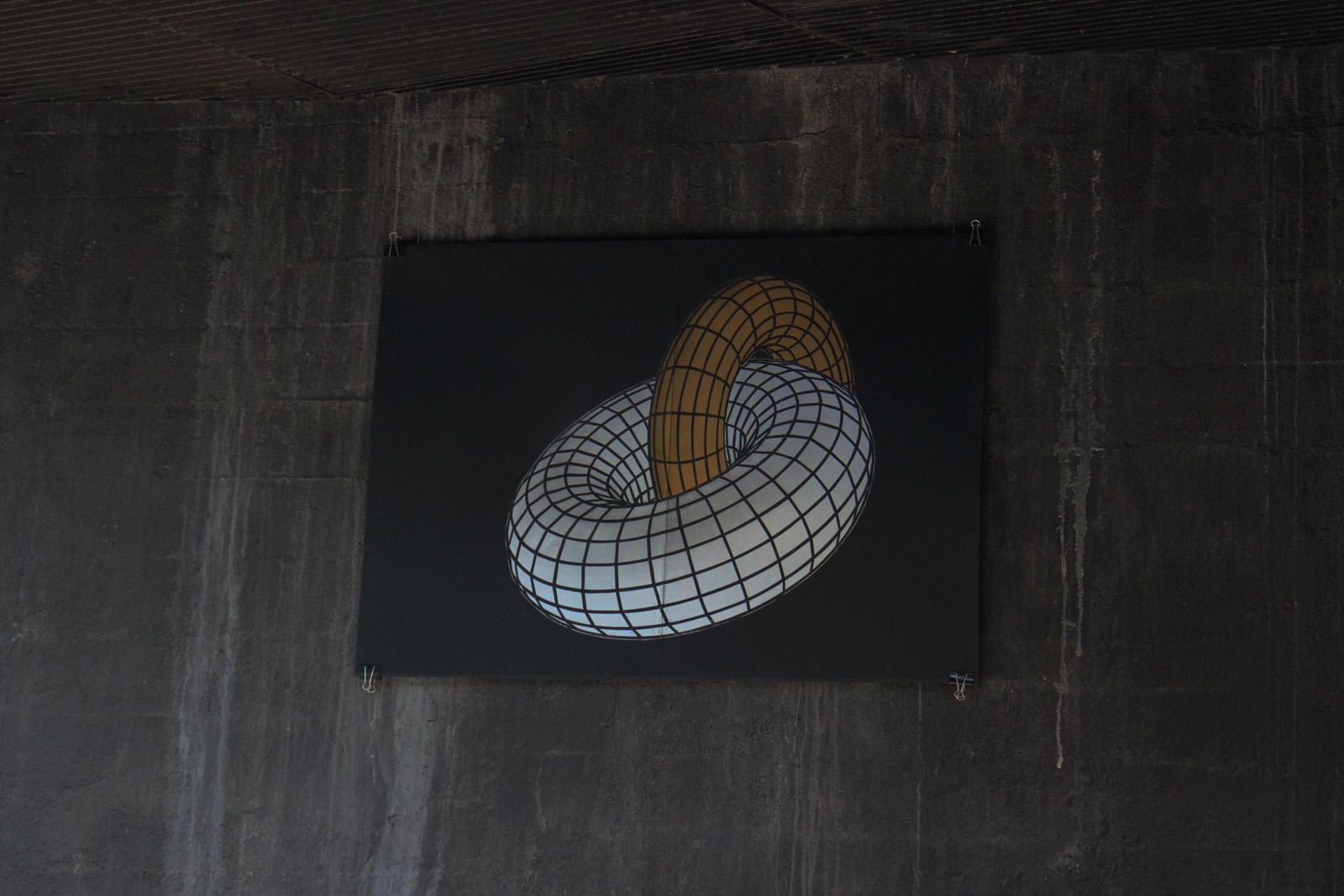 KAMASUTRA TORUS linocut_exhibition