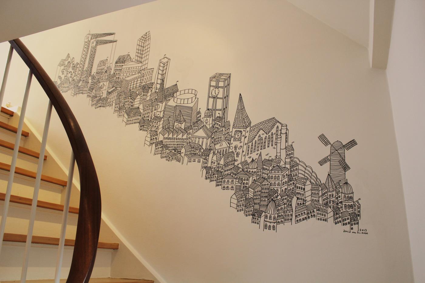 Incredible Mural Drawings by Sean Sullivan | Design Inspiration ...