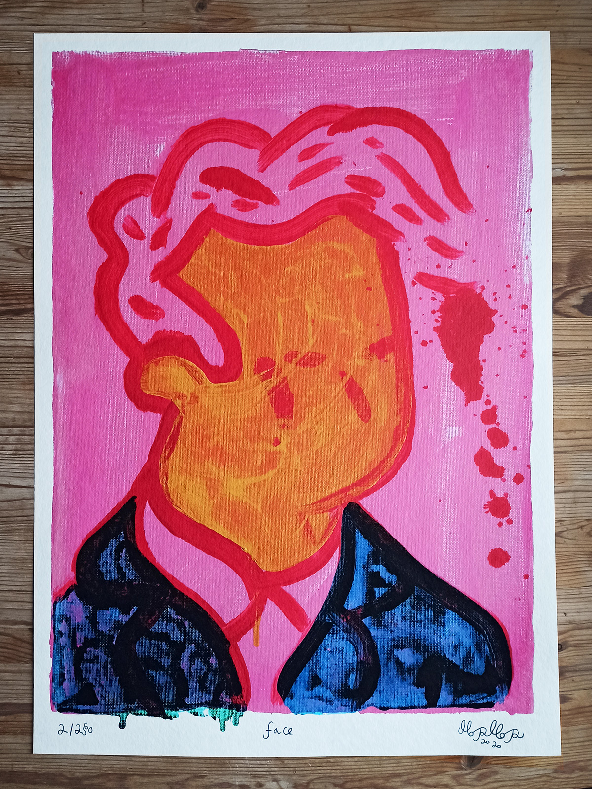 posters-prints, giclee-print, colorful, figurative, graphical, illustrative, bodies, cartoons, people, blue, pink, red, white, paper, amusing, danish, decorative, design, faces, interior, interior-design, modern, modern-art, nordic, posters, prints, scandinavien, Buy original high quality art. Paintings, drawings, limited edition prints & posters by talented artists.