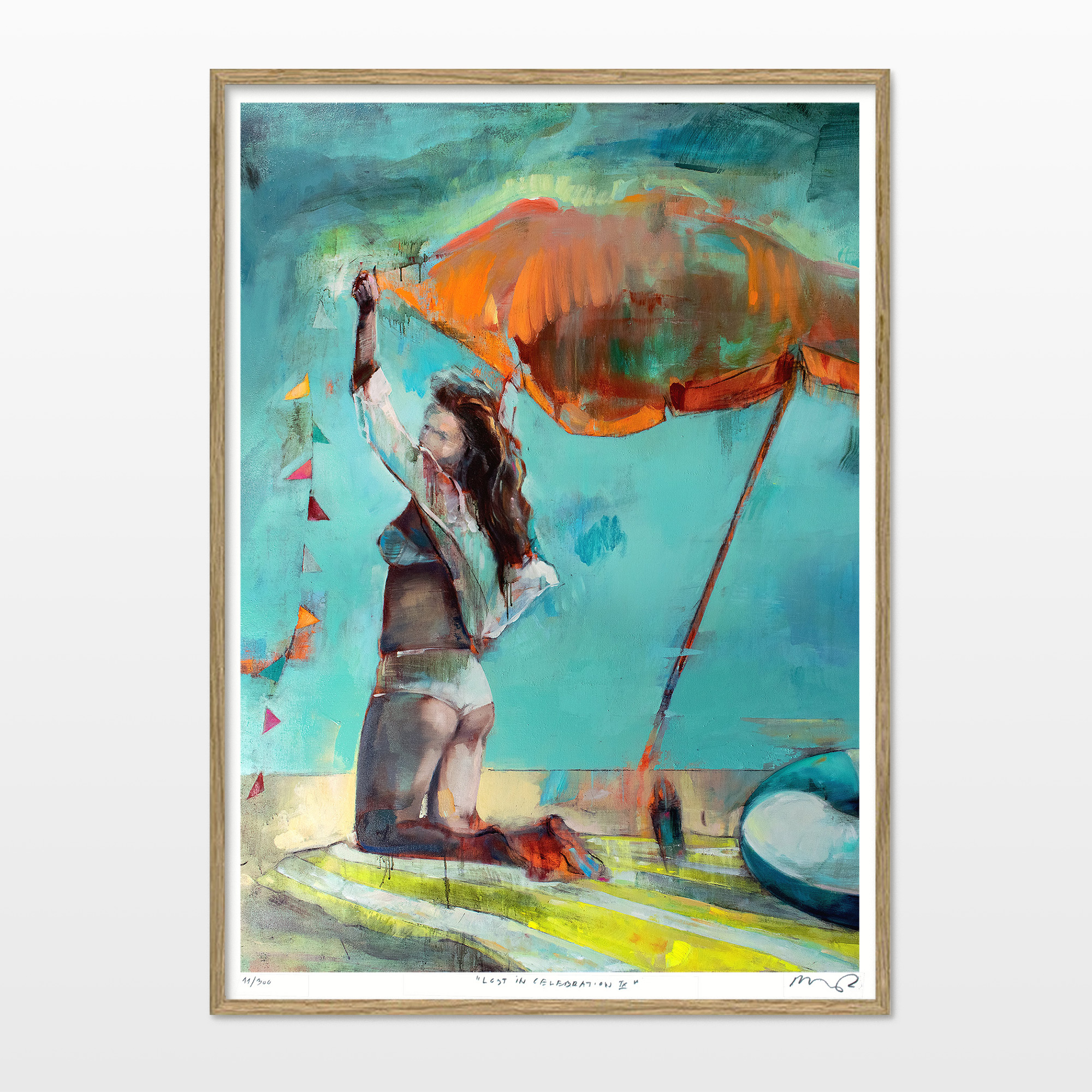 posters-prints, giclee-print, aesthetic, colorful, figurative, graphical, landscape, portraiture, bodies, nature, oceans, people, sky, gold, green, orange, turquoise, yellow, ink, beach, beautiful, danish, decorative, design, female, interior, interior-design, modern, modern-art, nordic, plants, posters, pretty, scandinavien, women, Buy original high quality art. Paintings, drawings, limited edition prints & posters by talented artists.