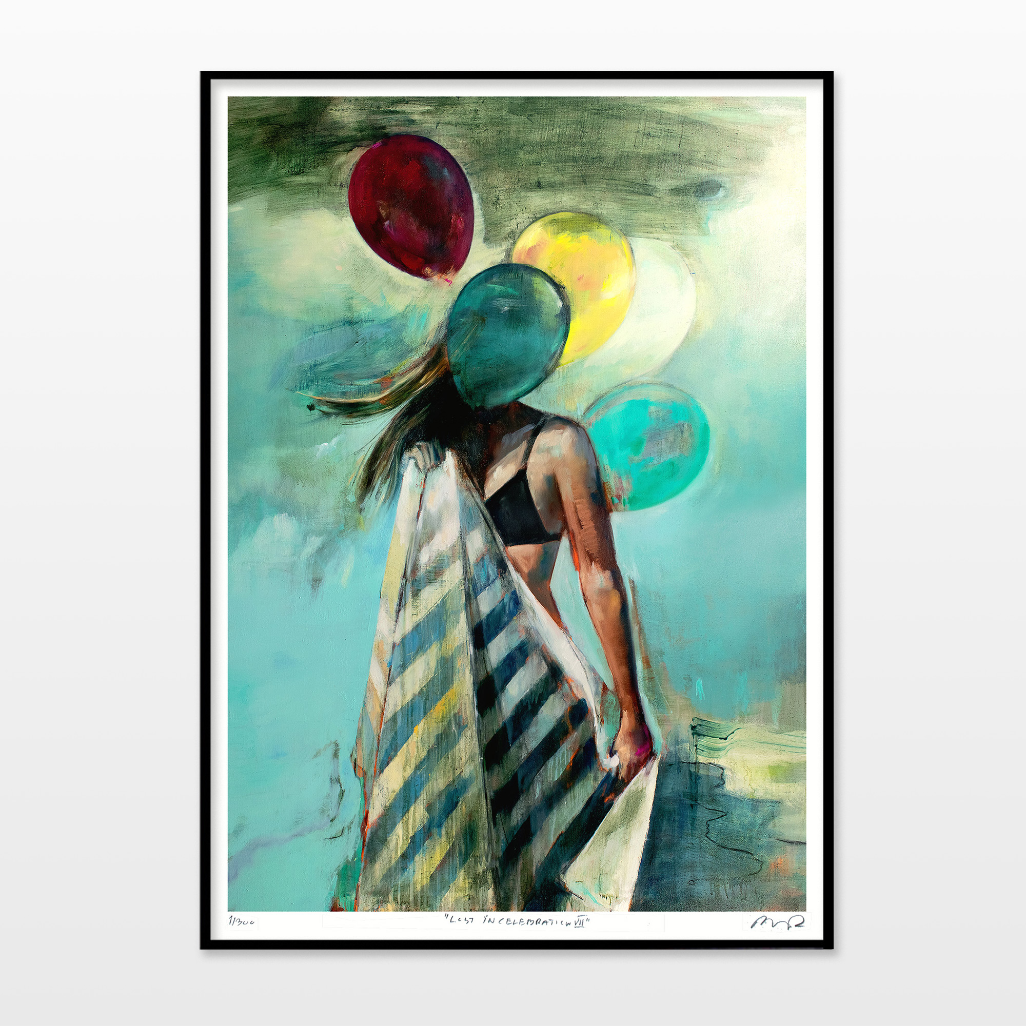 posters-prints, aesthetic, colorful, figurative, graphical, illustrative, landscape, portraiture, bodies, nature, oceans, people, sky, blue, green, turquoise, yellow, ink, paper, beach, beautiful, danish, decorative, design, female, interior, interior-design, nordic, posters, pretty, scandinavien, summer, women, Buy original high quality art. Paintings, drawings, limited edition prints & posters by talented artists.