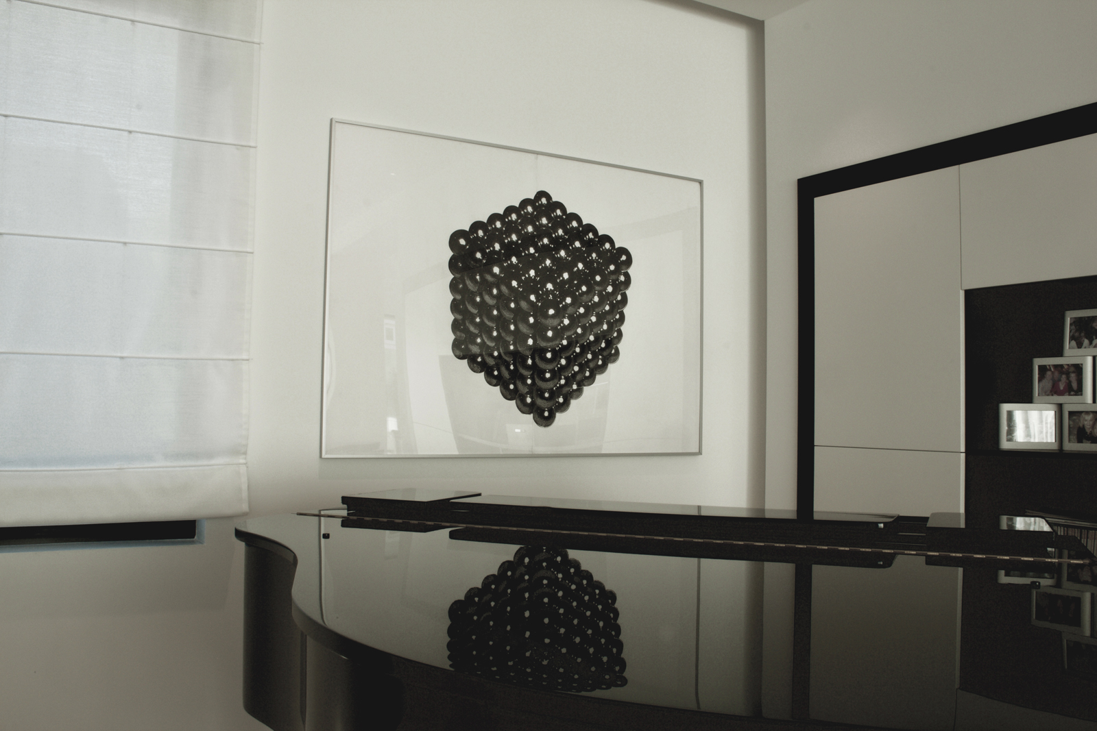 MAGNETIC CUBE linocut_private collection
