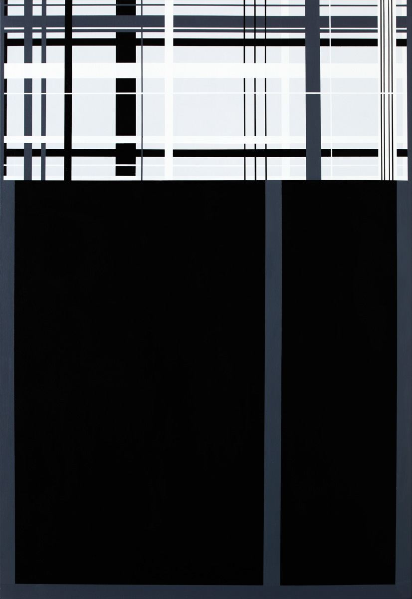 aesthetic, minimalist painting, simple, stylish, lines, black, white, graphic, design