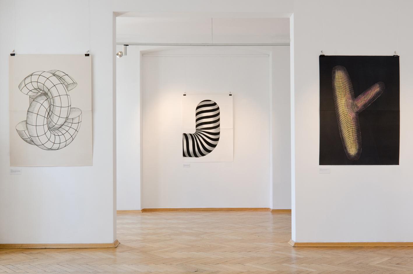 FIGURATIONS IX linocut_Doctorate Degree exhibition