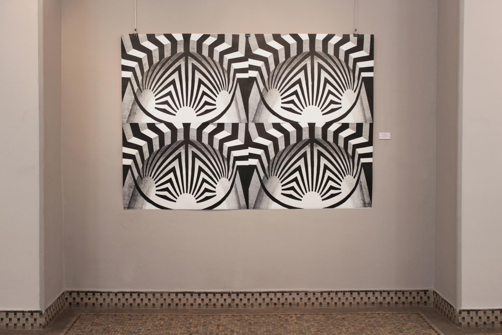 MIHRAB III linocut_exhibition