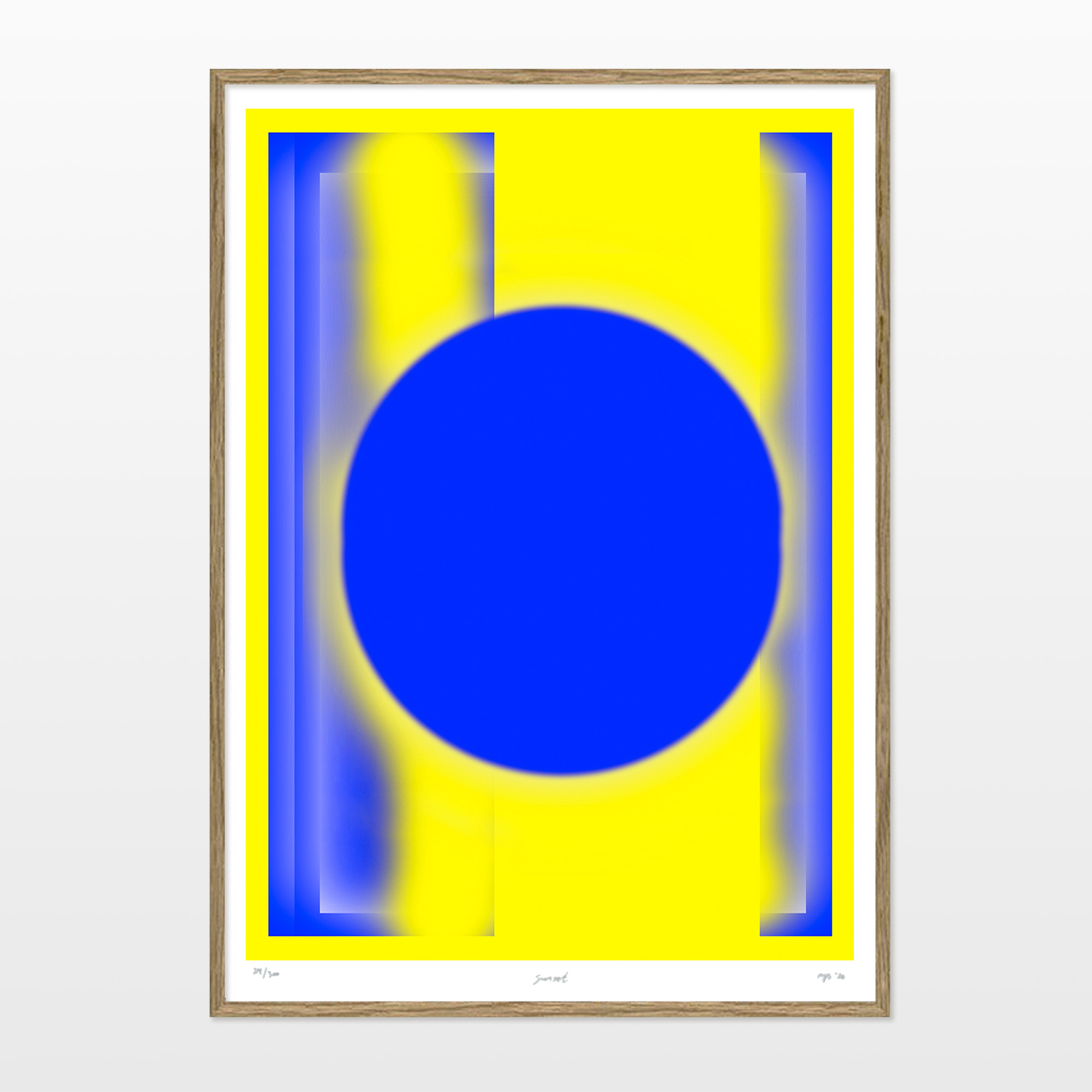 posters-prints, giclee-print, aesthetic, colorful, graphical, minimalistic, pop, architecture, patterns, sky, blue, yellow, ink, paper, beautiful, contemporary-art, copenhagen, danish, design, interior, interior-design, modern, modern-art, nordic, posters, prints, scandinavien, sun, Buy original high quality art. Paintings, drawings, limited edition prints & posters by talented artists.