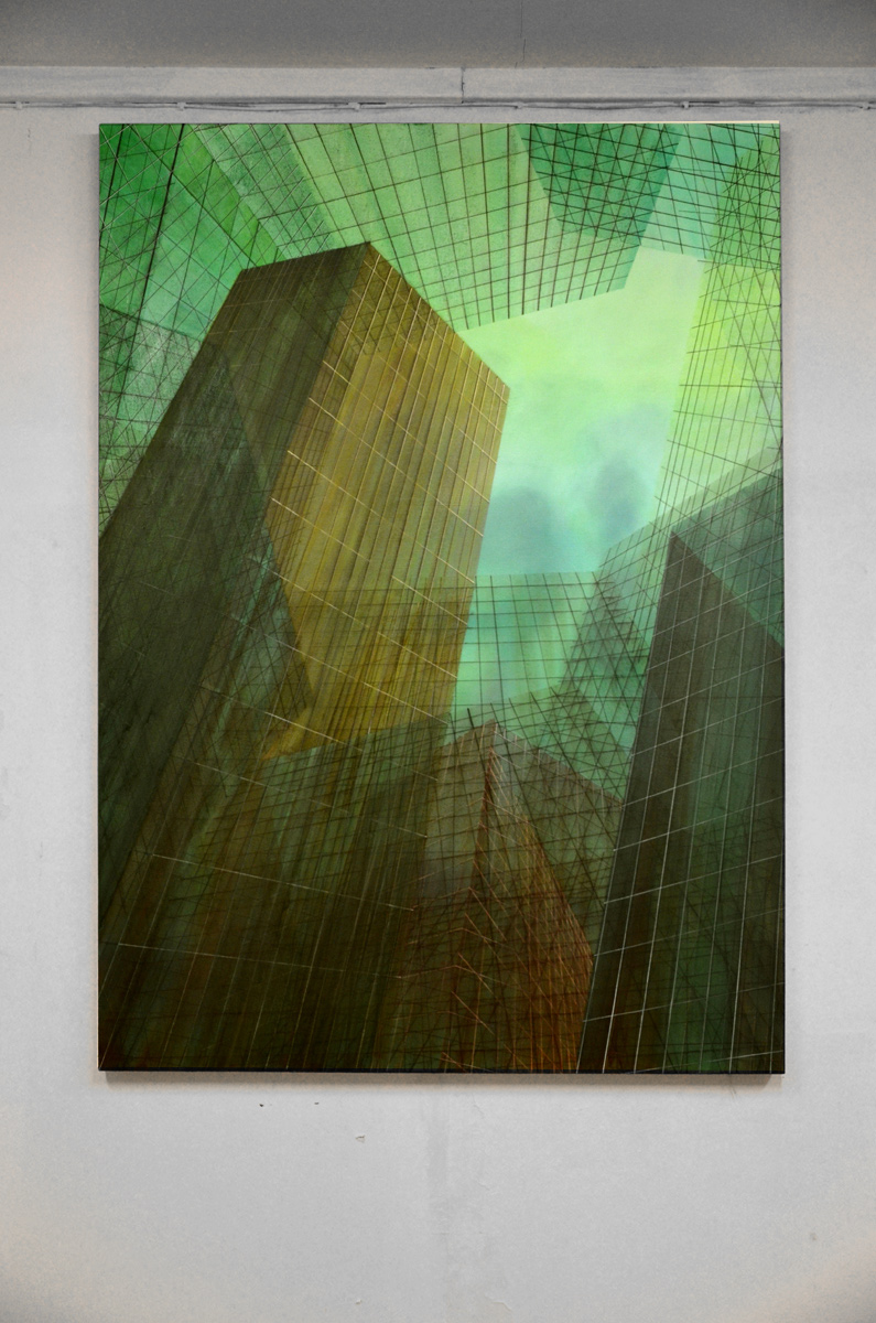 paintings, aesthetic, figurative, geometric, graphical, minimalistic, architecture, patterns, science, technology, blue, green, flax-canvas, oil, architectural, beautiful, buildings, contemporary-art, danish, design, houses, interior, interior-design, modern, modern-art, nordic, scandinavien, Buy original high quality art. Paintings, drawings, limited edition prints & posters by talented artists.