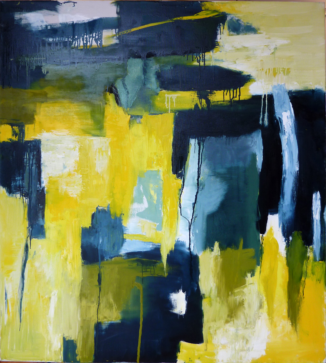abstract paintings black and white and blue. Black Bedroom Furniture Sets. Home Design Ideas