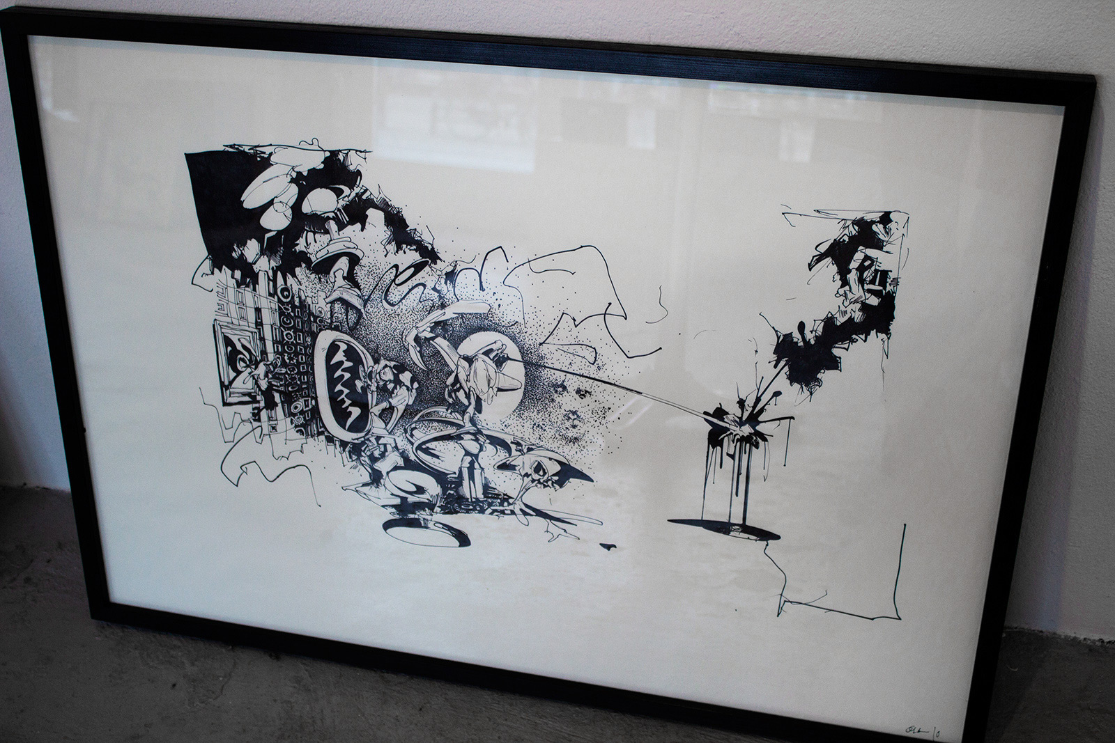 drawings, expressive, illustrative, monochrome, pop, architecture, science, black, white, ink, paper, marker, abstract-forms, architectural, black-and-white, buildings, contemporary-art, danish, decorative, design, graffiti, horizontal, interior, interior-design, male, modern, modern-art, nordic, scandinavien, sketch, street-art, urban, wild, Buy original high quality art. Paintings, drawings, limited edition prints & posters by talented artists.