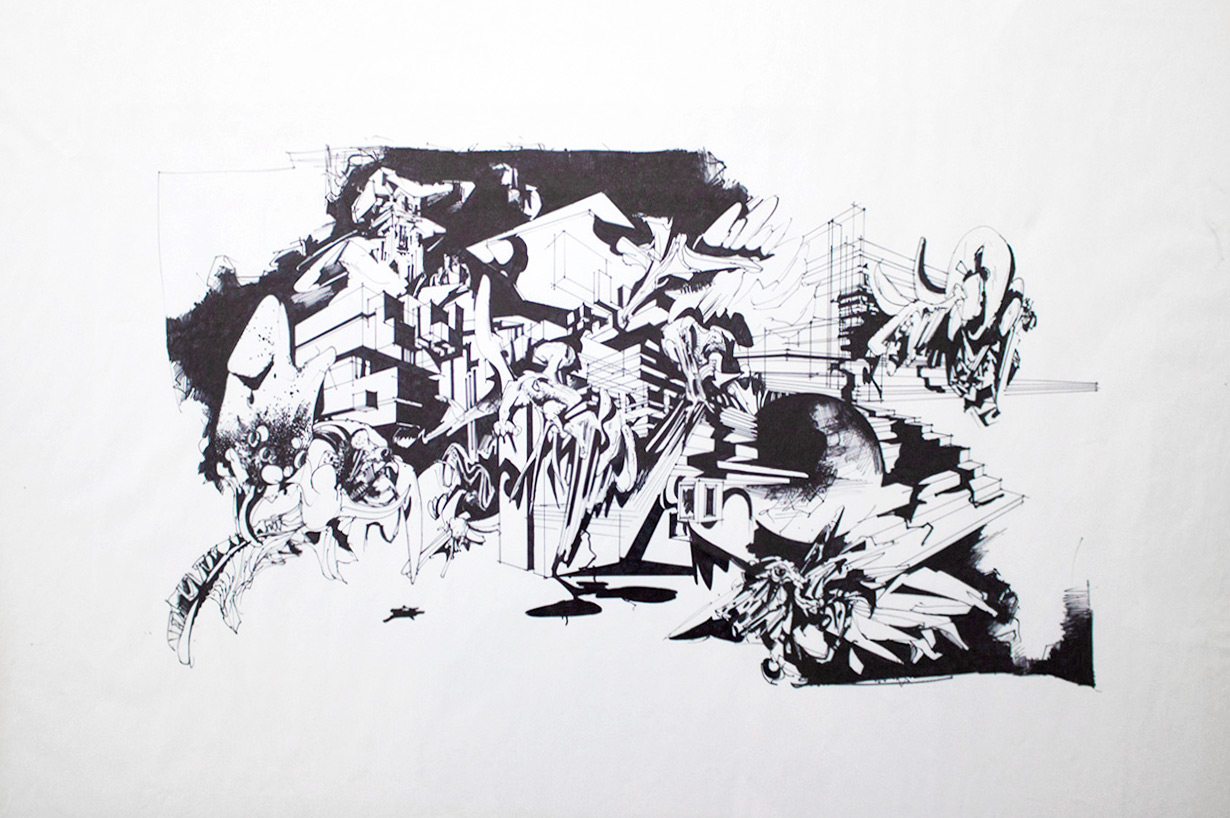 drawings, abstract, expressive, graphical, illustrative, landscape, monochrome, architecture, botany, nature, patterns, black, white, artliner, ink, paper, marker, architectural, contemporary-art, danish, design, interior, interior-design, modern, modern-art, nordic, scandinavien, Buy original high quality art. Paintings, drawings, limited edition prints & posters by talented artists.