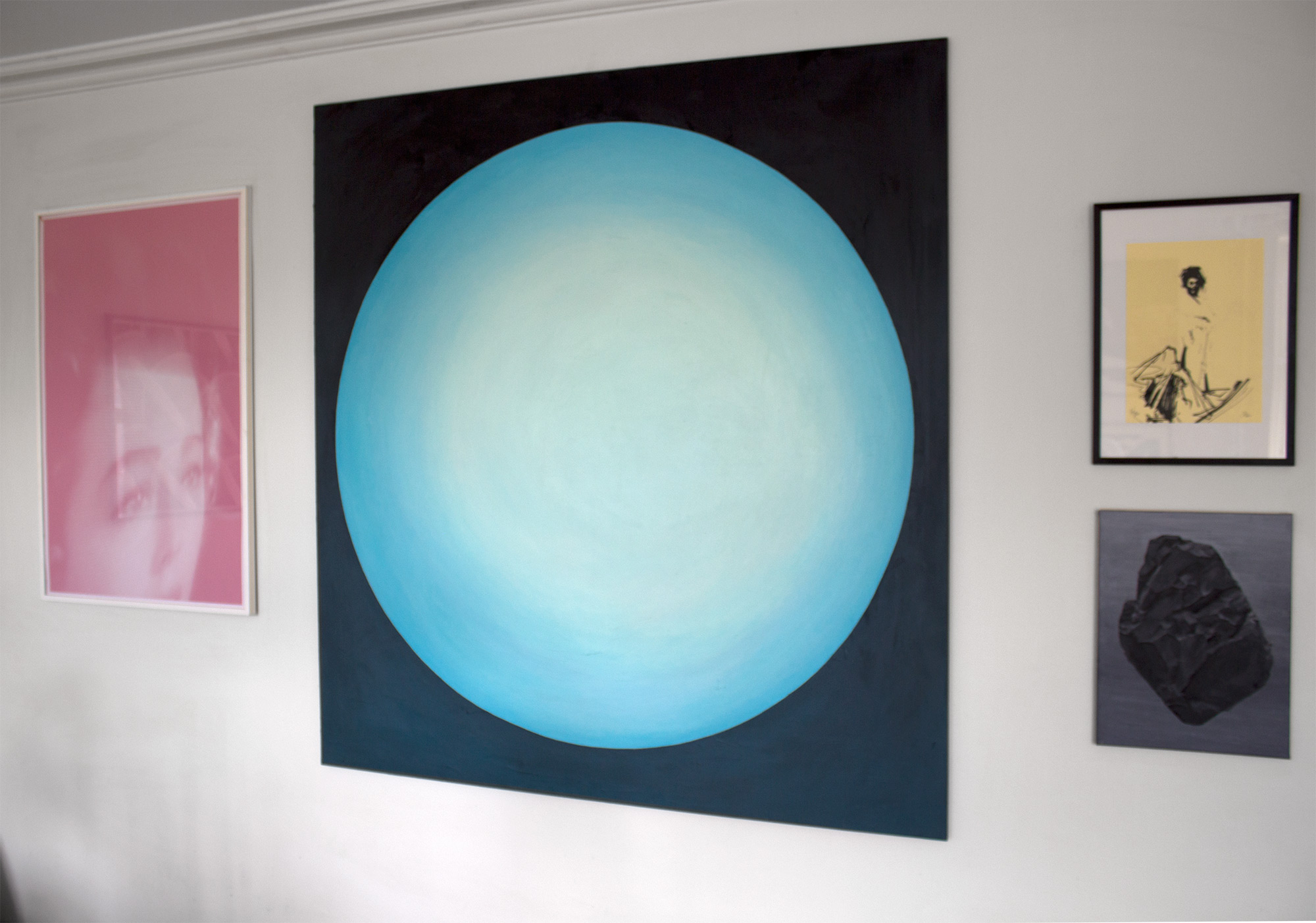 paintings, abstract, aesthetic, figurative, geometric, graphical, minimalistic, patterns, technology, blue, turquoise, acrylic, cotton-canvas, beautiful, conceptual, contemporary-art, danish, decorative, interior, interior-design, modern, modern-art, nordic, scandinavien, Buy original high quality art. Paintings, drawings, limited edition prints & posters by talented artists.