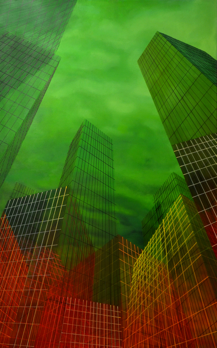 paintings, aesthetic, colorful, figurative, graphical, architecture, patterns, sky, technology, green, red, flax-canvas, oil, architectural, beautiful, buildings, cities, contemporary-art, cubism, detailed, interior, interior-design, modern, modern-art, Buy original high quality art. Paintings, drawings, limited edition prints & posters by talented artists.