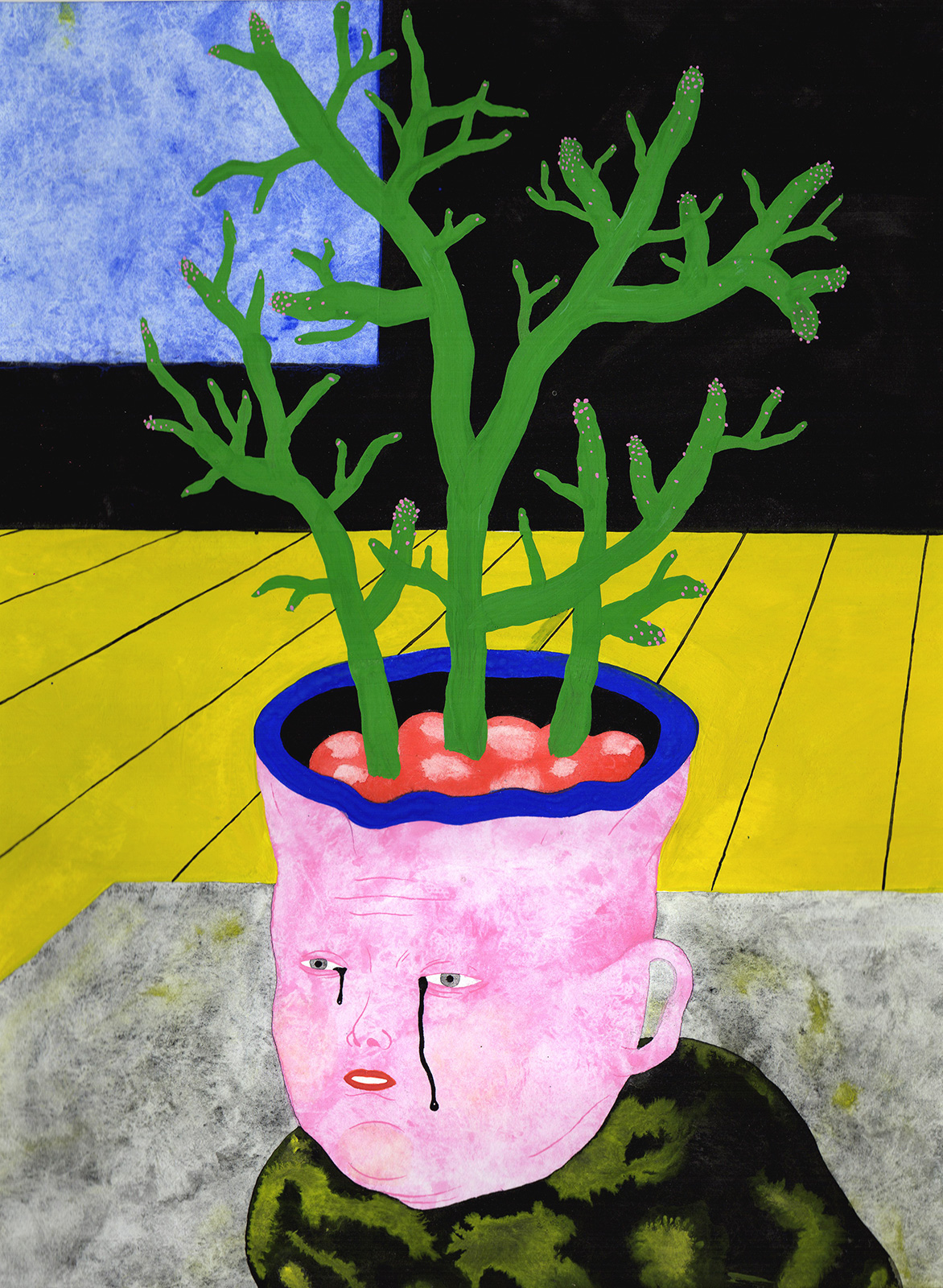 art-prints, drawings, giclee, gouache, watercolors, colorful, figurative, portraiture, surrealistic, botany, cartoons, humor, people, blue, grey, pink, yellow, ink, paper, amusing, contemporary-art, copenhagen, danish, decorative, design, faces, feminist, flowers, interior, interior-design, modern, modern-art, nordic, plants, posters, prints, scandinavien, Buy original high quality art. Paintings, drawings, limited edition prints & posters by talented artists.