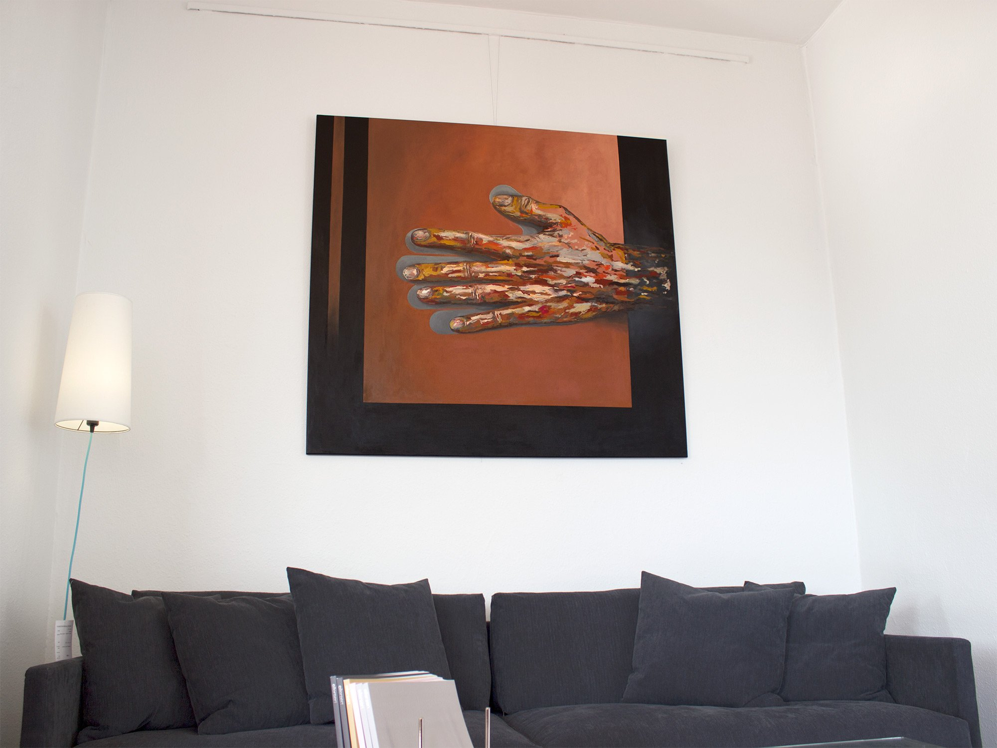 paintings, aesthetic, expressive, still-life, bodies, people, black, brown, orange, red, acrylic, cotton-canvas, conceptual, contemporary-art, interior, interior-design, modern, modern-art, symbolic, Buy original high quality art. Paintings, drawings, limited edition prints & posters by talented artists.