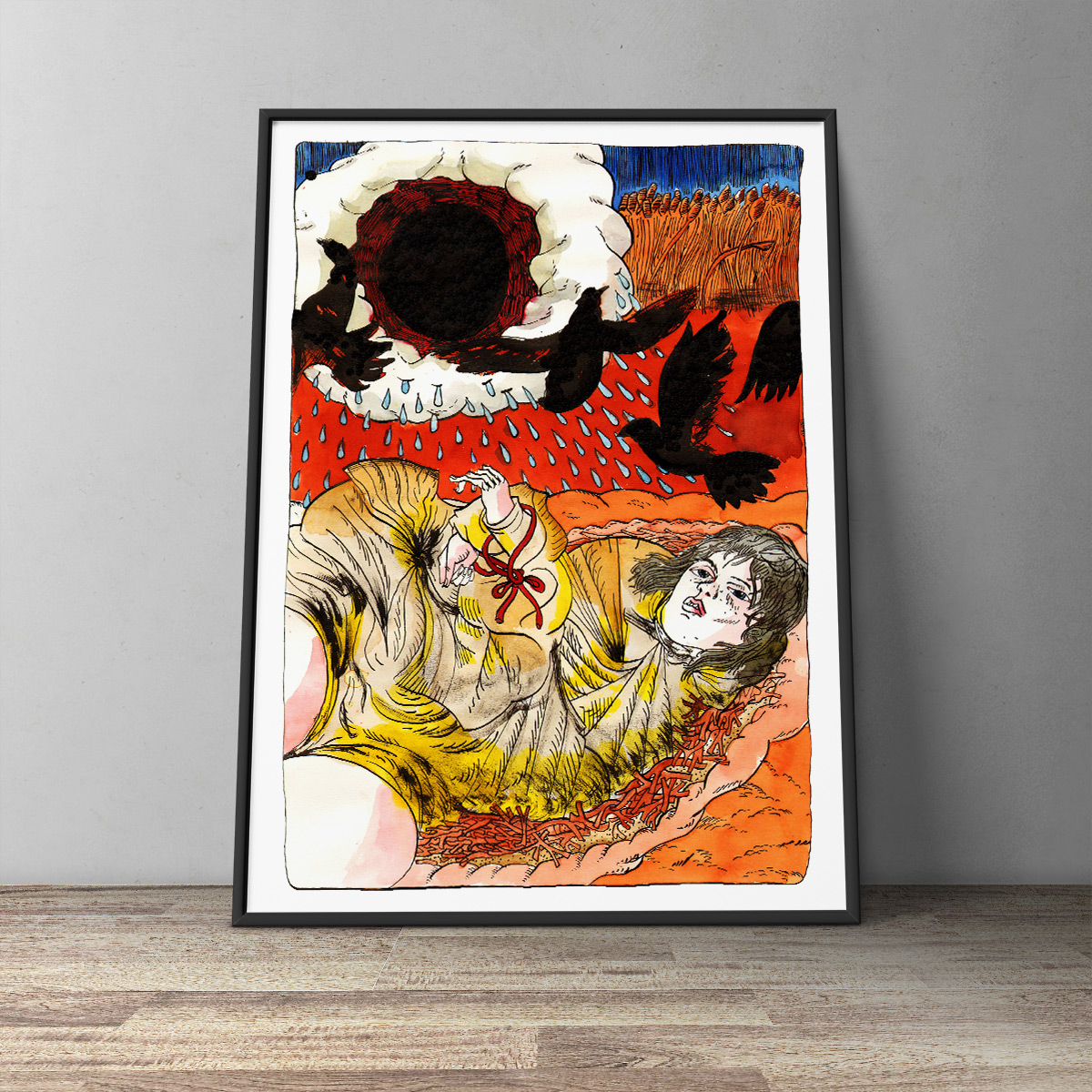 art-prints, gliceé, animal, figurative, landscape, portraiture, bodies, movement, nature, wildlife, black, blue, red, yellow, ink, paper, atmosphere, birds, contemporary-art, danish, decorative, design, interior, interior-design, modern, modern-art, nordic, posters, prints, scandinavien, scenery, Buy original high quality art. Paintings, drawings, limited edition prints & posters by talented artists.