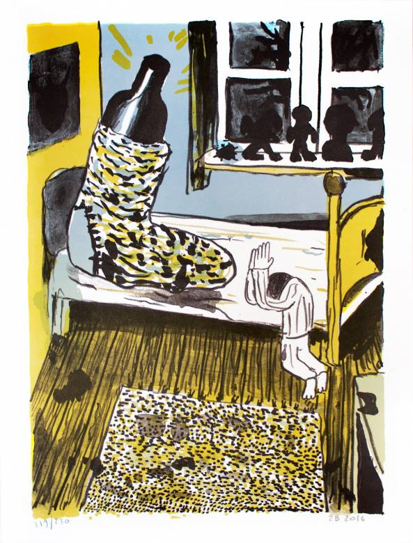art-prints, lithographs, colorful, figurative, graphical, portraiture, surrealistic, cartoons, everyday life, moods, black, blue, green, yellow, ink, paper, contemporary-art, danish, decorative, design, food, interior, interior-design, modern, modern-art, nordic, scandinavien, vivid, Buy original high quality art. Paintings, drawings, limited edition prints & posters by talented artists.