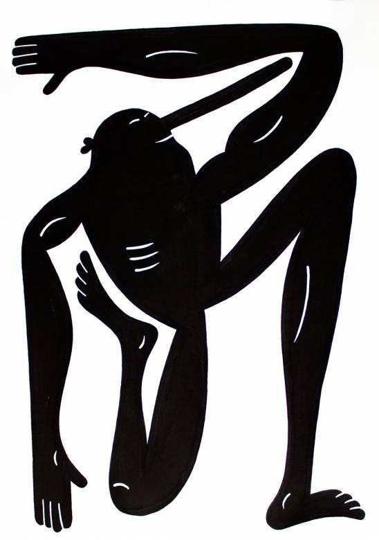 Drawings Figurative Monochrome Portraiture Bodies Humor Black White