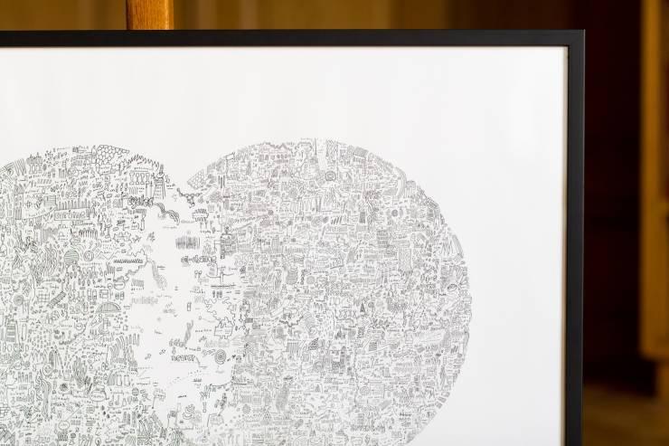 melancholia, worlds, planets, nasa, detail, consciousness, romanticism, fine liner, muji, interior, design, simple, minimalism, circular, space, exploration