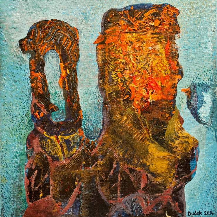 paintings, abstract, colorful, surrealistic, moods, movement, sky, brown, red, turquoise, yellow, acrylic, cotton-canvas, abstract-forms, expressionism, vivid, Buy original high quality art. Paintings, drawings, limited edition prints & posters by talented artists.