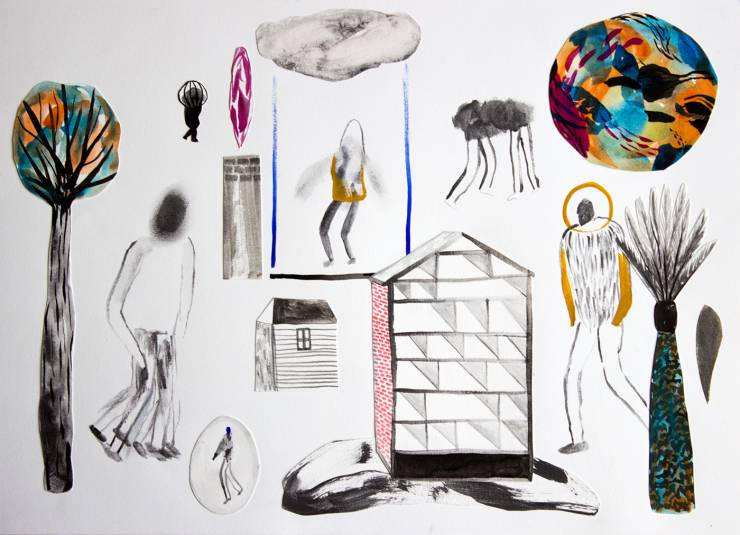 drawings, collages, abstract, colorful, figurative, geometric, landscape, portraiture, architecture, botany, nature, black, blue, red, artliner, paper, watercolor, abstract-forms, buildings, danish, design, interior, interior-design, nordic, scandinavien, scenery, vivid, Buy original high quality art. Paintings, drawings, limited edition prints & posters by talented artists.
