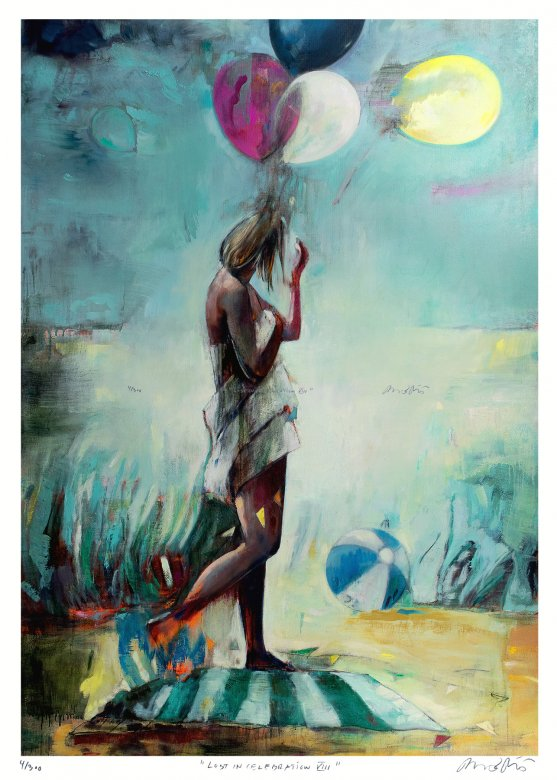 posters-prints, giclee-print, aesthetic, colorful, figurative, graphical, illustrative, landscape, portraiture, bodies, nature, oceans, people, sky, black, blue, green, turquoise, yellow, ink, paper, beach, beautiful, danish, decorative, design, interior, interior-design, modern, nordic, posters, pretty, scandinavien, summer, Buy original high quality art. Paintings, drawings, limited edition prints & posters by talented artists.