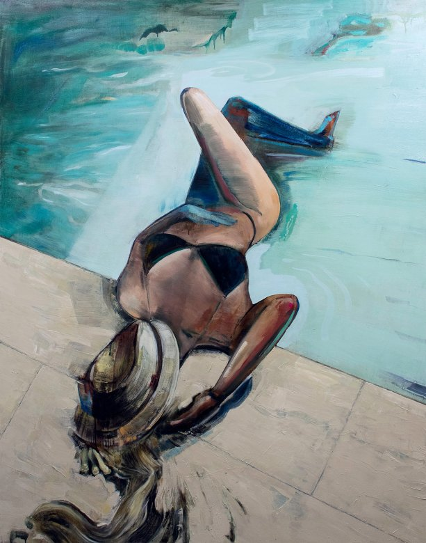paintings, expressive, figurative, graphical, illustrative, bodies, moods, nature, oceans, people, seasons, sexuality, beige, blue, green, grey, turquoise, acrylic, charcoal, cotton-canvas, oil, beach, beautiful, contemporary-art, day, drinks, expressionism, female, girls, interior-design, modern-art, nordic, scandinavien, sea, shapes, water, women, Buy original high quality art. Paintings, drawings, limited edition prints & posters by talented artists.