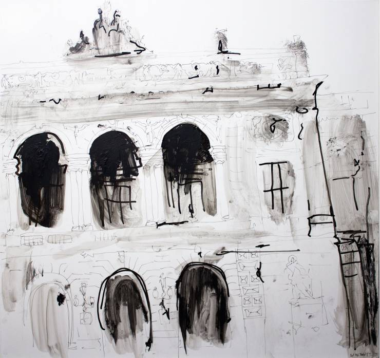 paintings, figurative, illustrative, monochrome, still-life, architecture, black, grey, white, acrylic, marker, oil, architectural, beautiful, black-and-white, bright, buildings, contemporary-art, danish, decorative, design, female, houses, interior, interior-design, modern, modern-art, nordic, scandinavien, sketch, tranquil, Buy original high quality art. Paintings, drawings, limited edition prints & posters by talented artists.