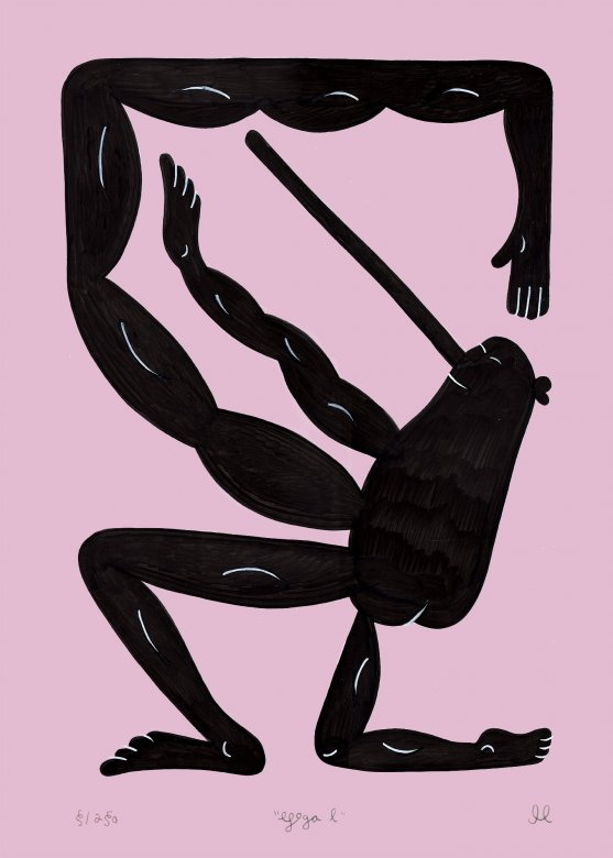 posters-prints, giclee-print, family-friendly, graphical, illustrative, minimalistic, pop, bodies, cartoons, humor, movement, people, pink, ink, paper, amusing, contemporary-art, copenhagen, danish, decorative, design, interior, interior-design, modern, modern-art, nordic, pop-art, posters, scandinavien, Buy original high quality art. Paintings, drawings, limited edition prints & posters by talented artists.